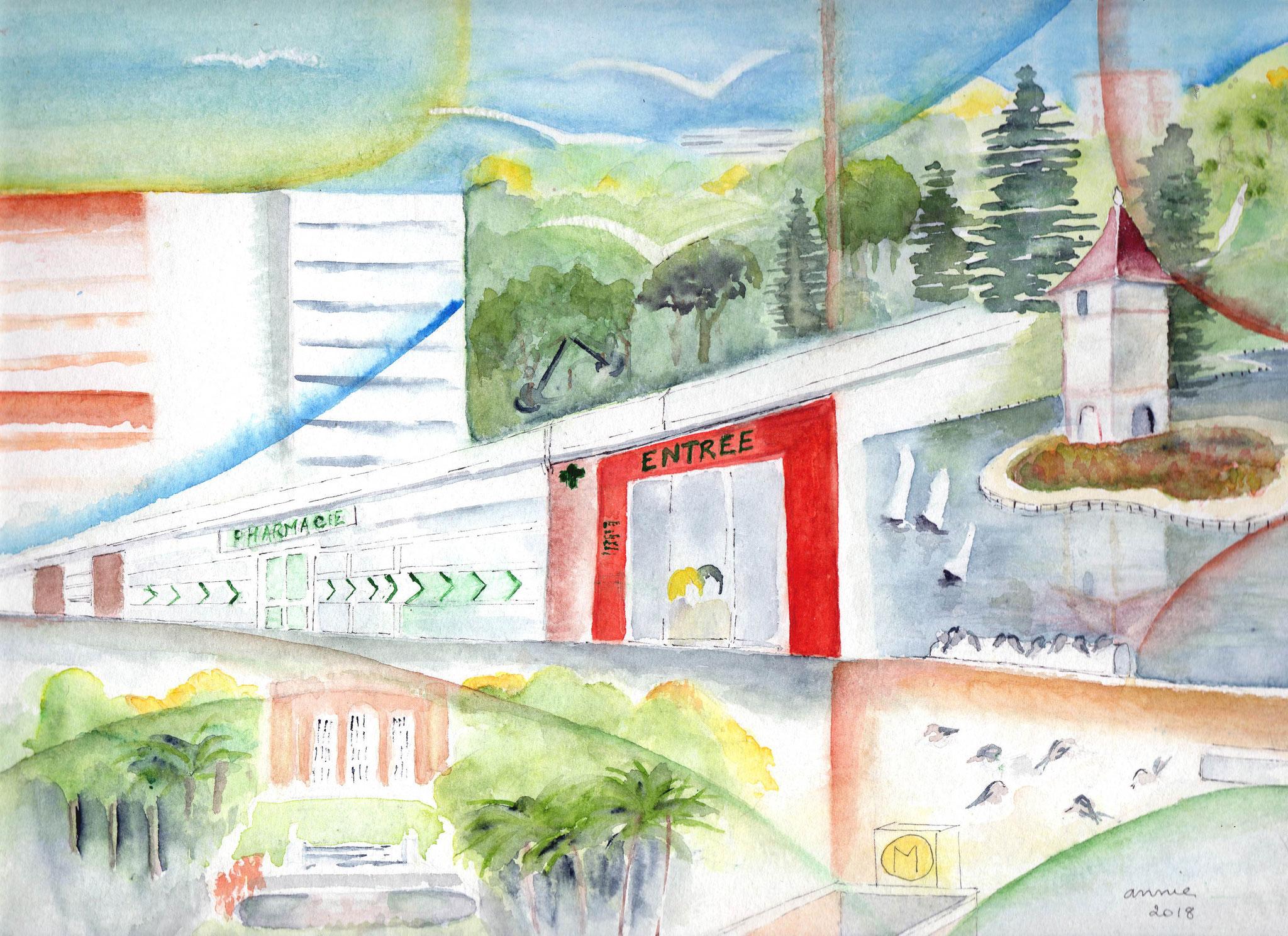 La pharmacie Métro Reynerie