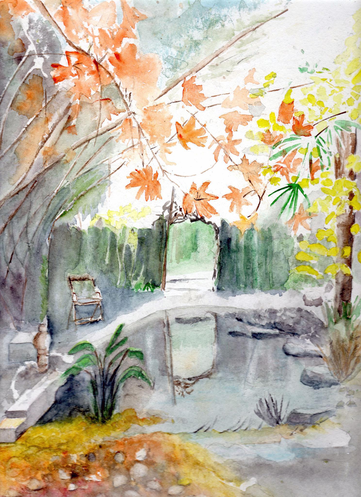 Le jardin de Miloud à Gironis