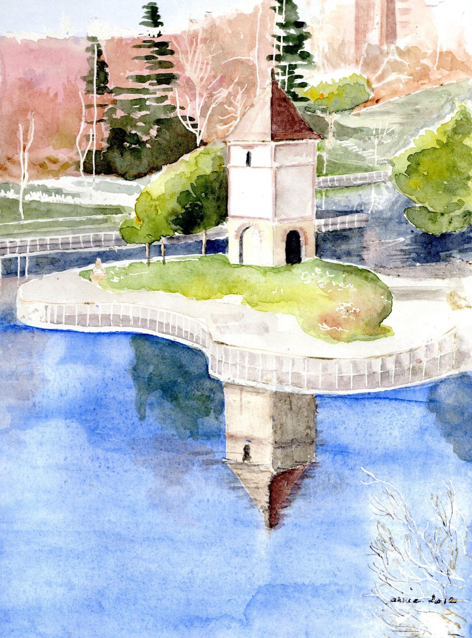 Le pigeonnier du lac de la Reynerie