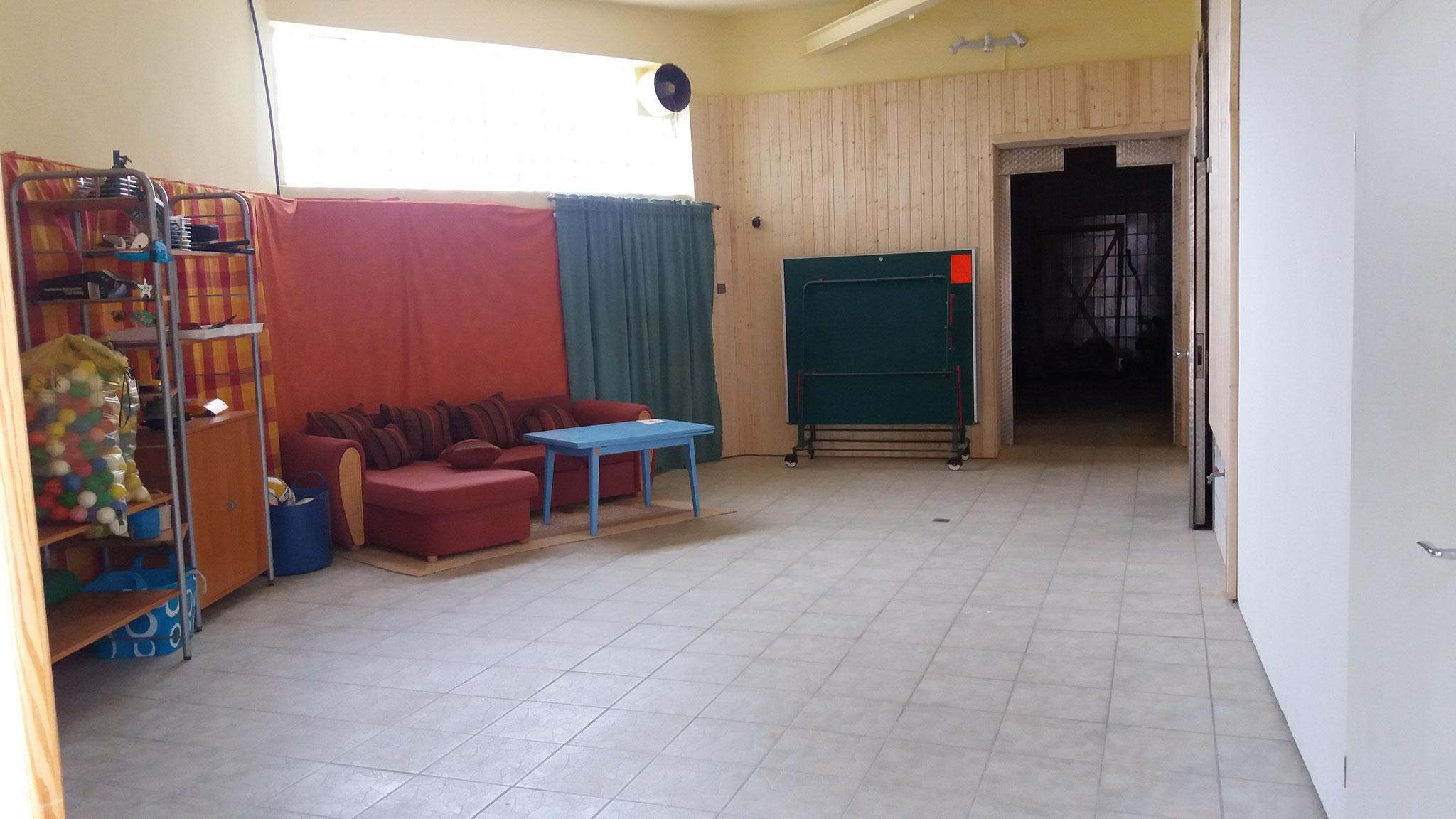 Tischtennis-Lounge