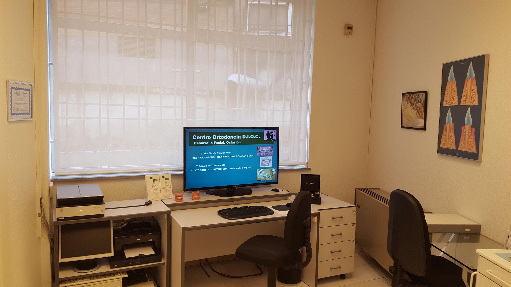Área de estudio de tratamientos
