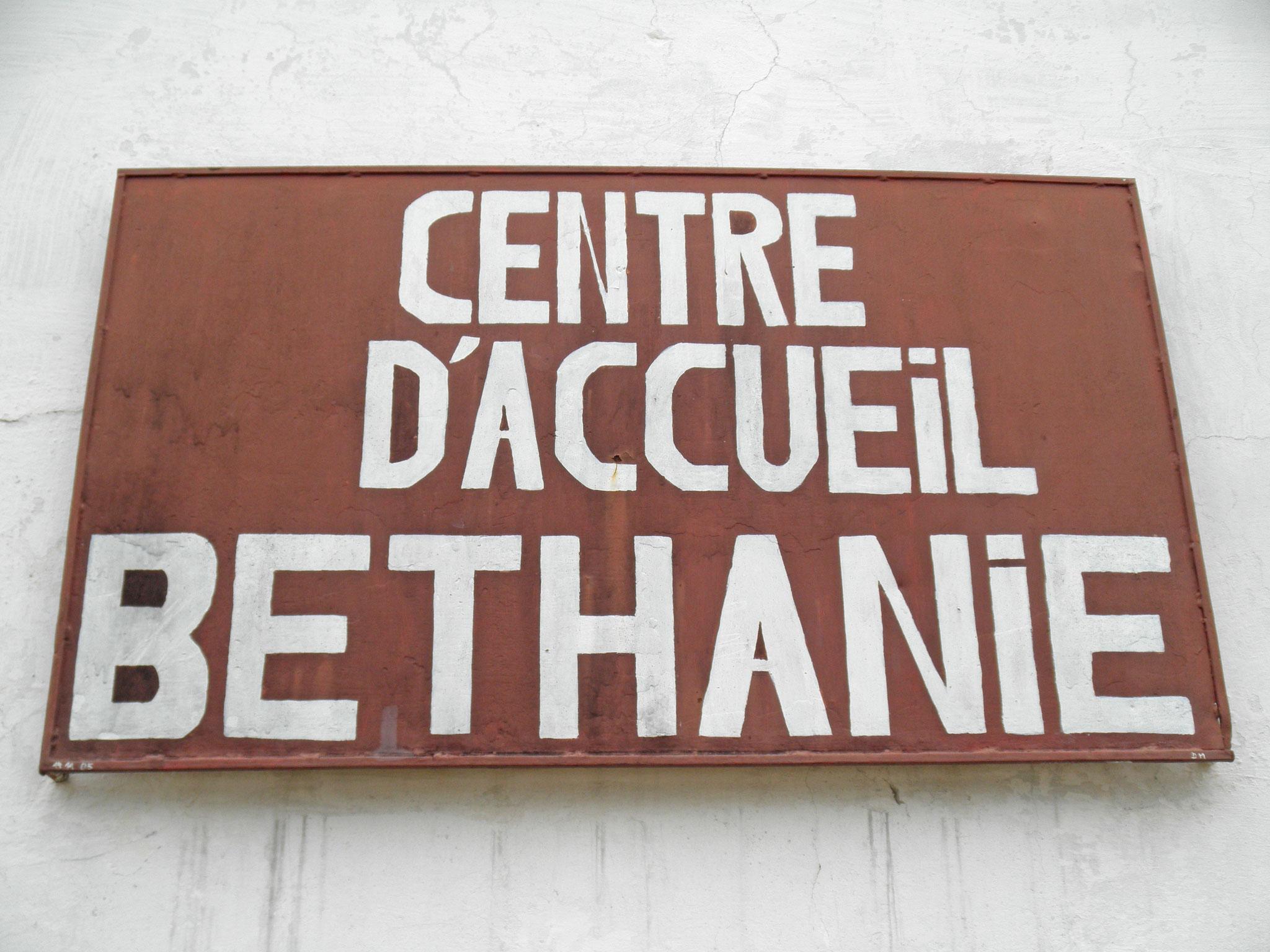 Entrée du Centre Béthanie