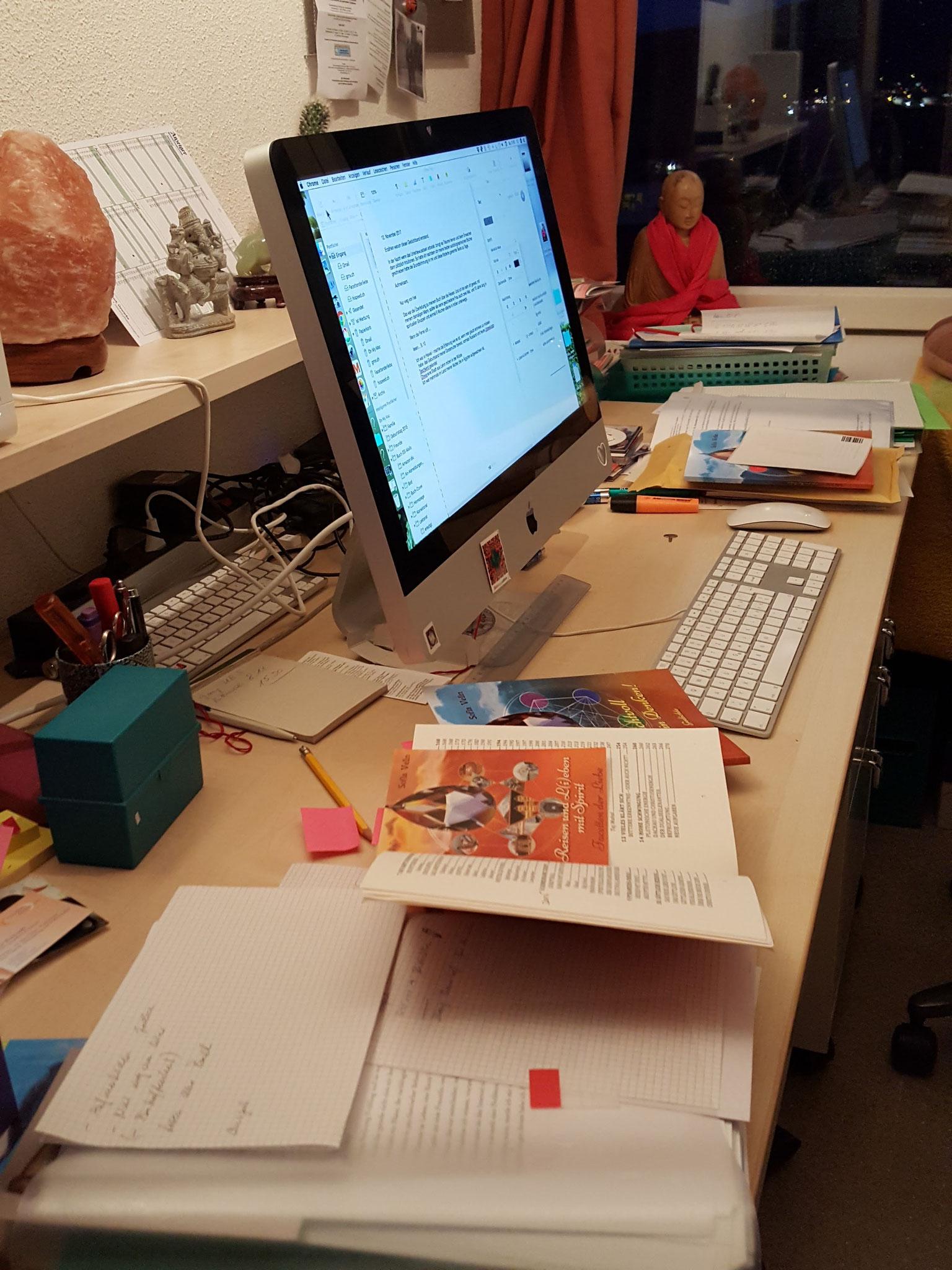 Mein Arbeitsplatz am iMac