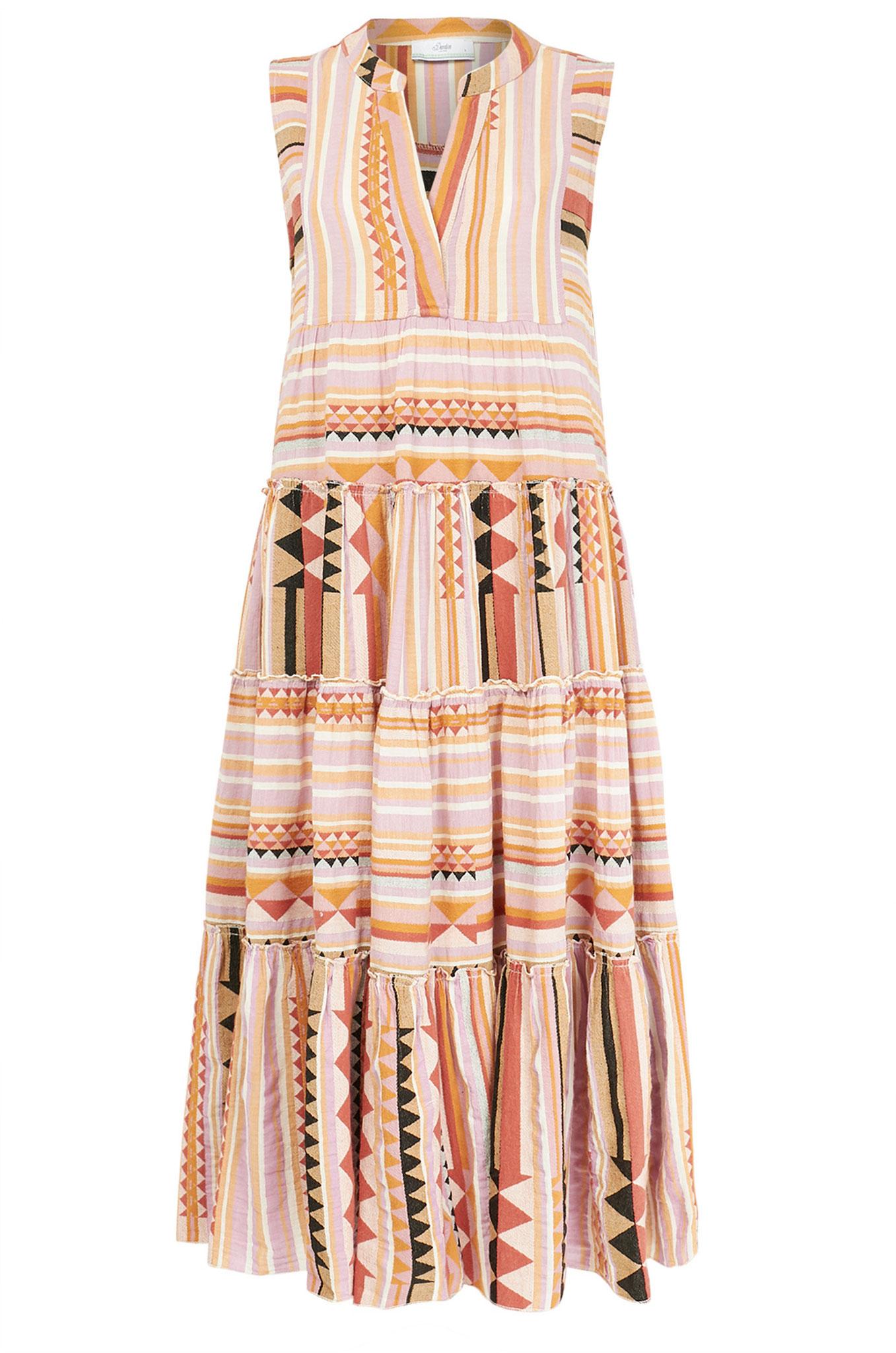 Tunika-Kleid aus Baumwolle in entspanntem Boho-Look von «Devotion»