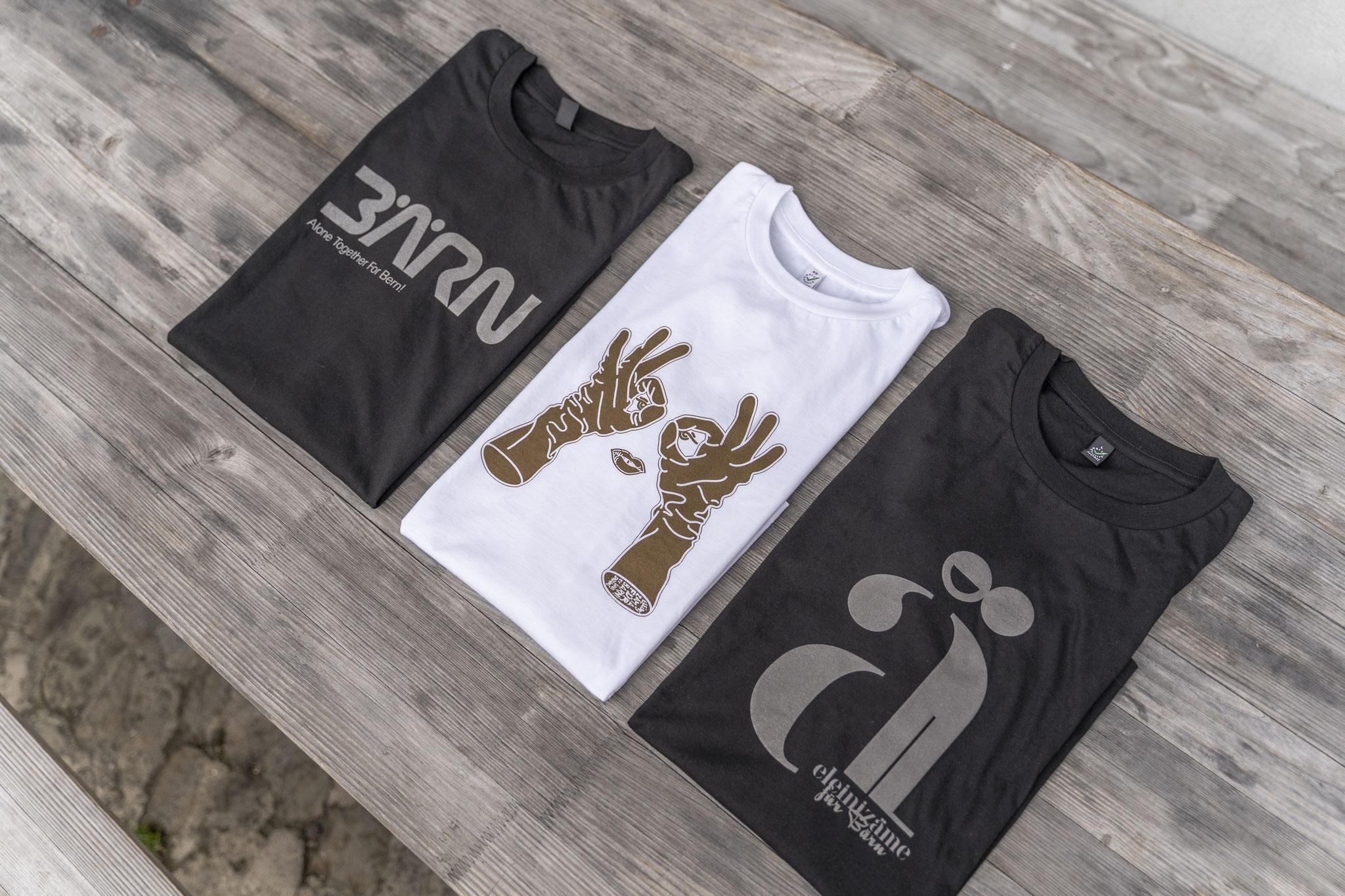 «Eleini» mit einem T-Shirt zeigst du, dass es «zäme» geit.