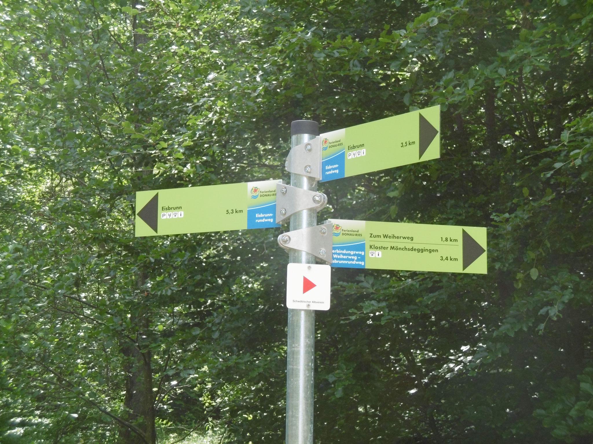Wanderwege im Ferienland Donau-Ries