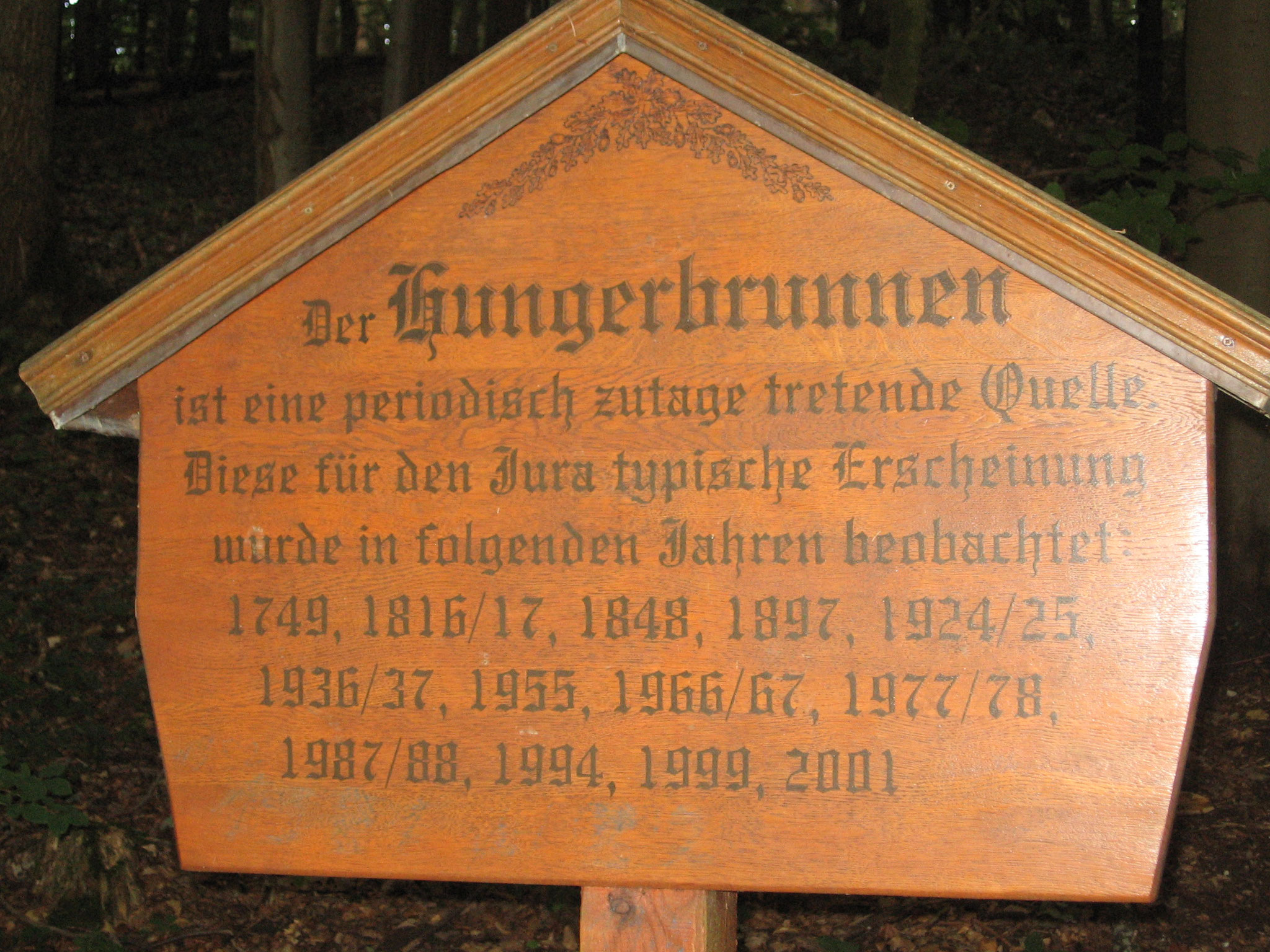 Hungerbrunnen