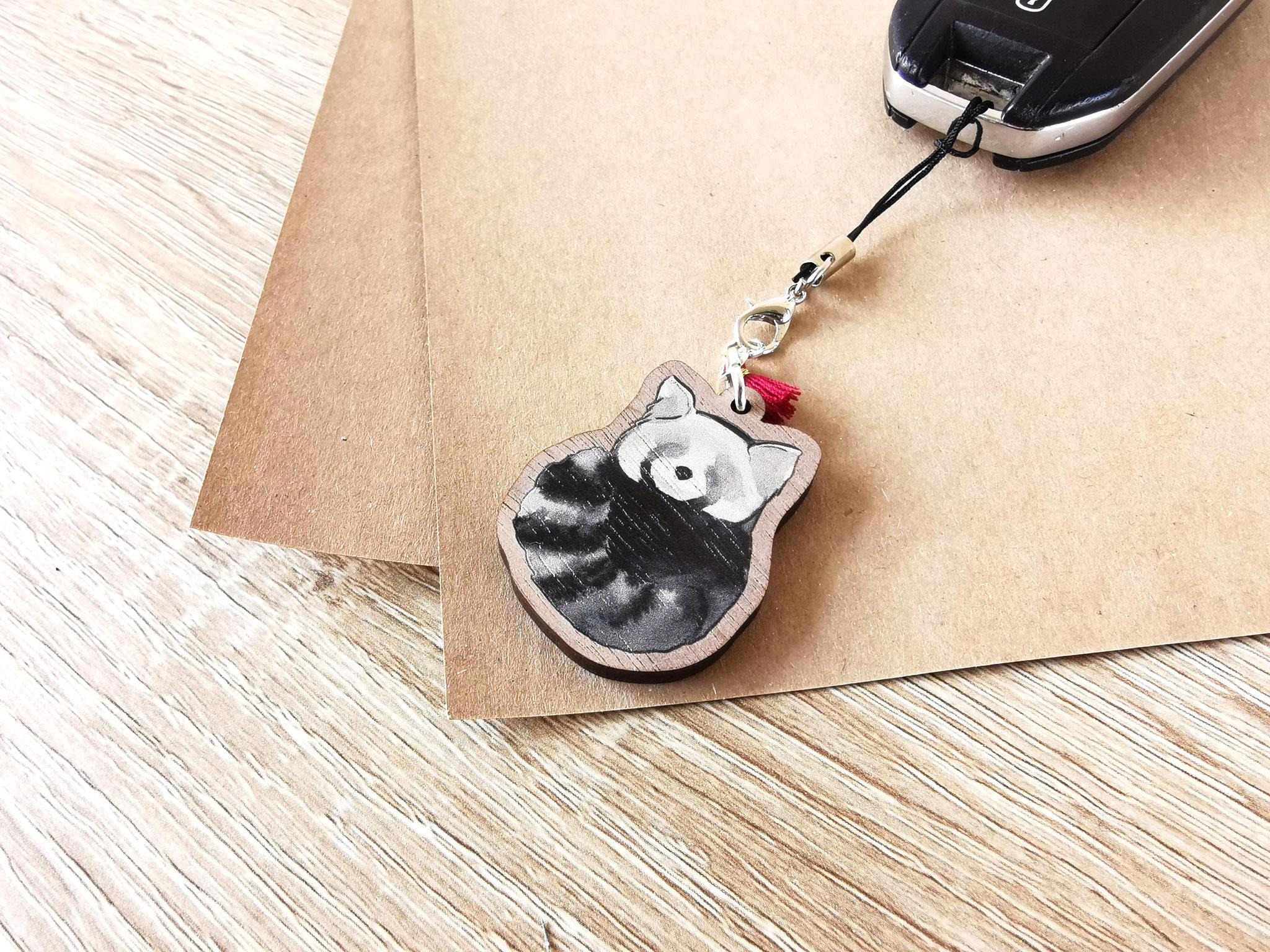 Panda-roux enroulé