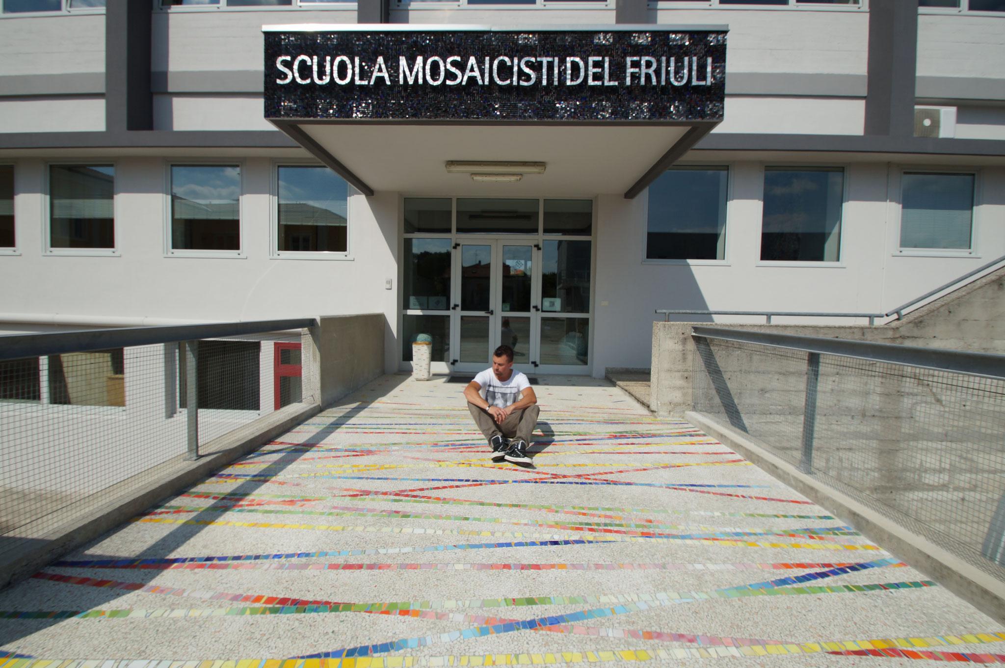 Opleiding Scuola Mosaicisti Del Friulli, Italië