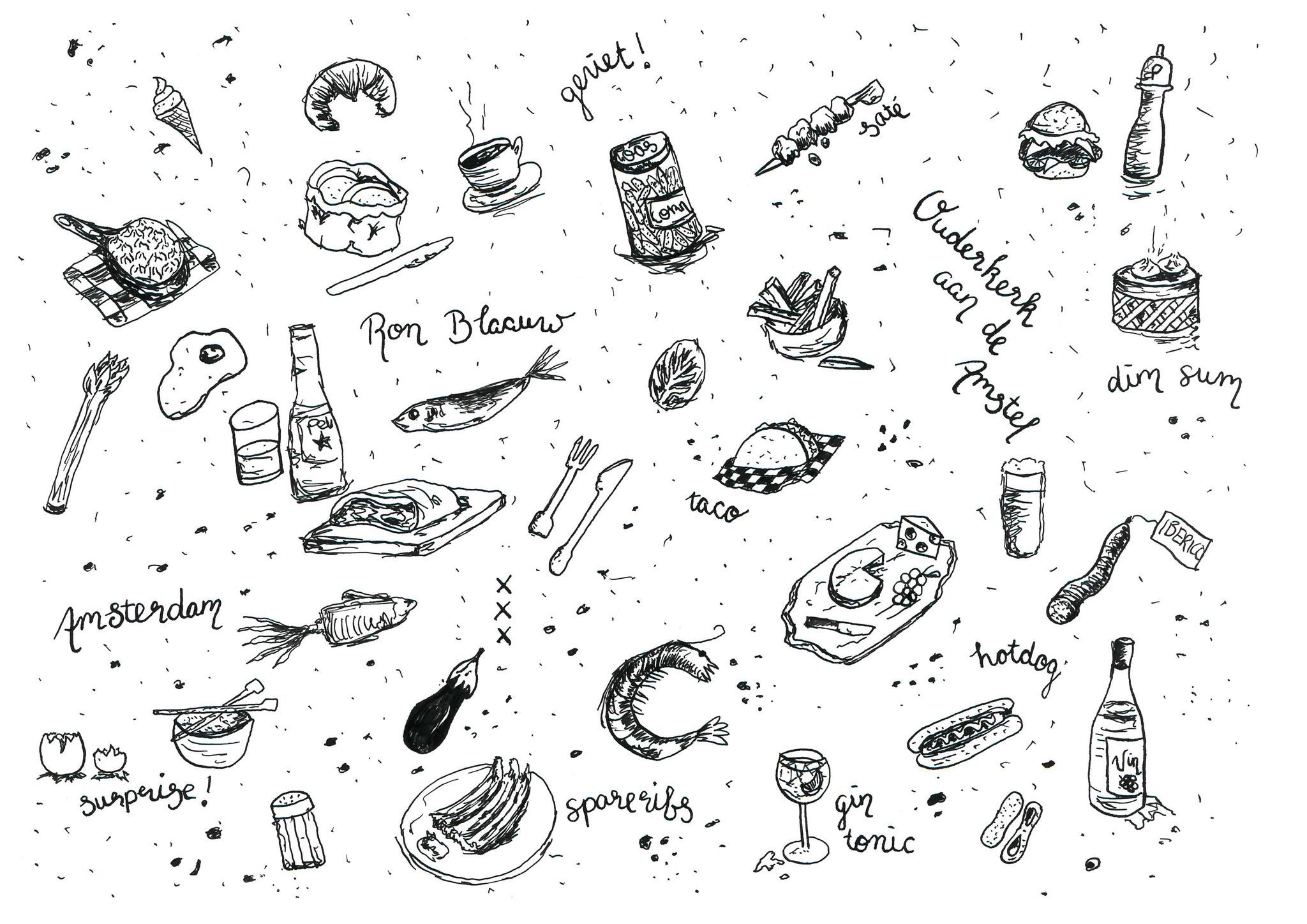 Ron Gastrobar - Amsterdam - Ontwerp voor restaurantbenodigdheden
