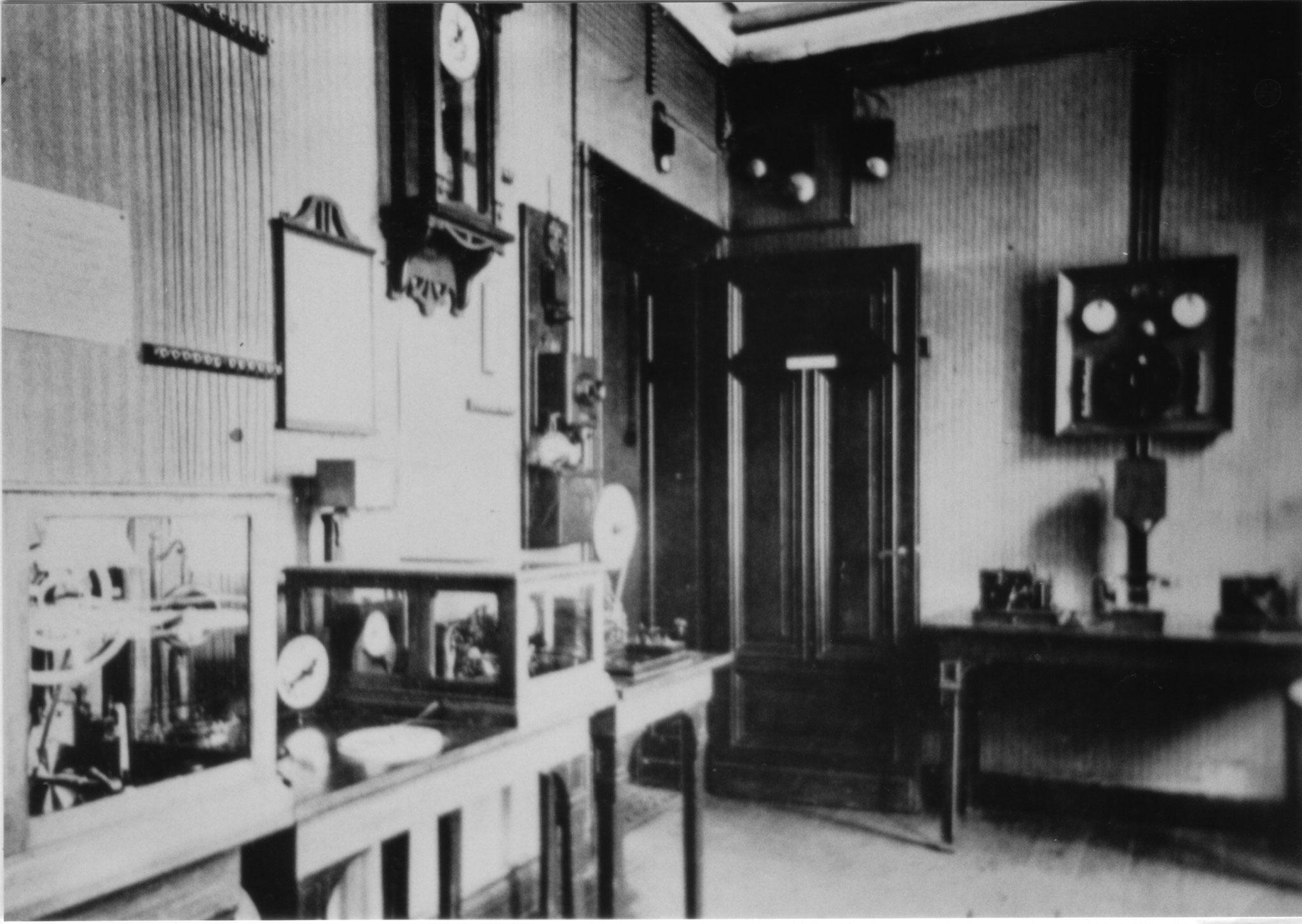 Rheinelbe Geräteraum