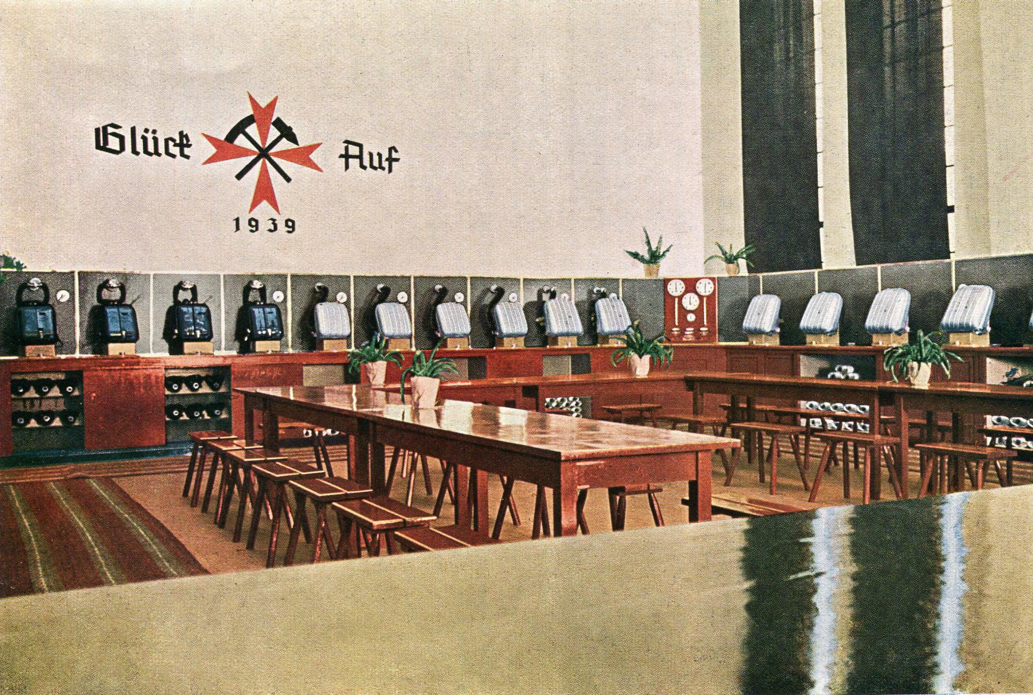 Rettungsstelle Ewald-König Ludwig in Herten auf der Schachtanlage Ewald-Fortsetzung I/III   1939