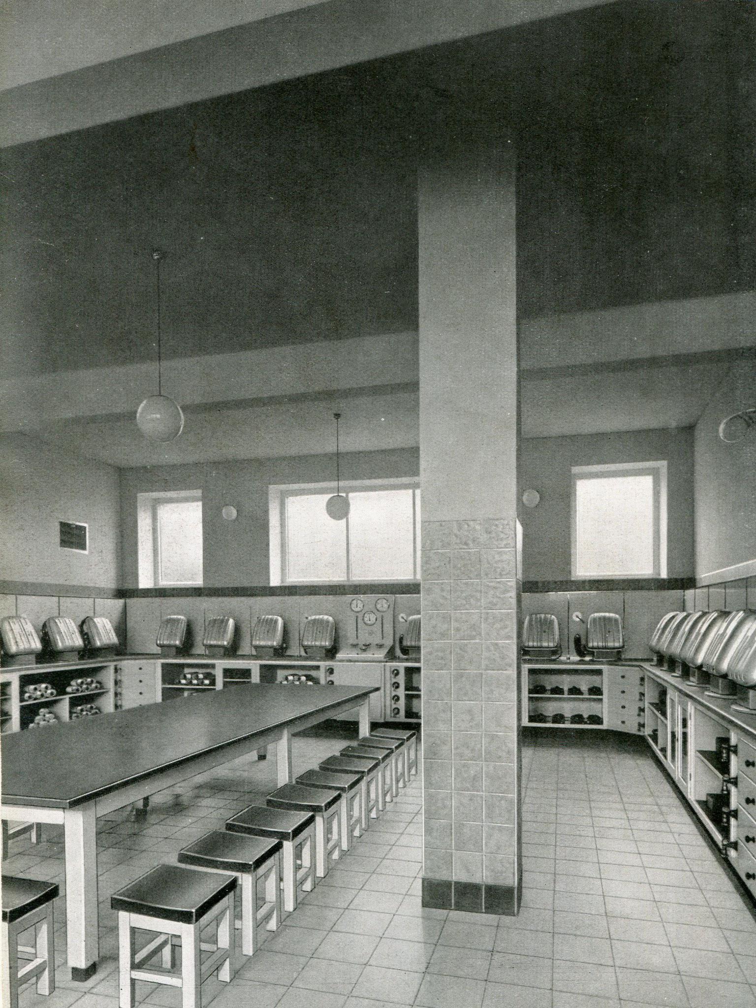 Gasschutzraum Gewerkschaft Emscher-Lippe in Datteln  1938