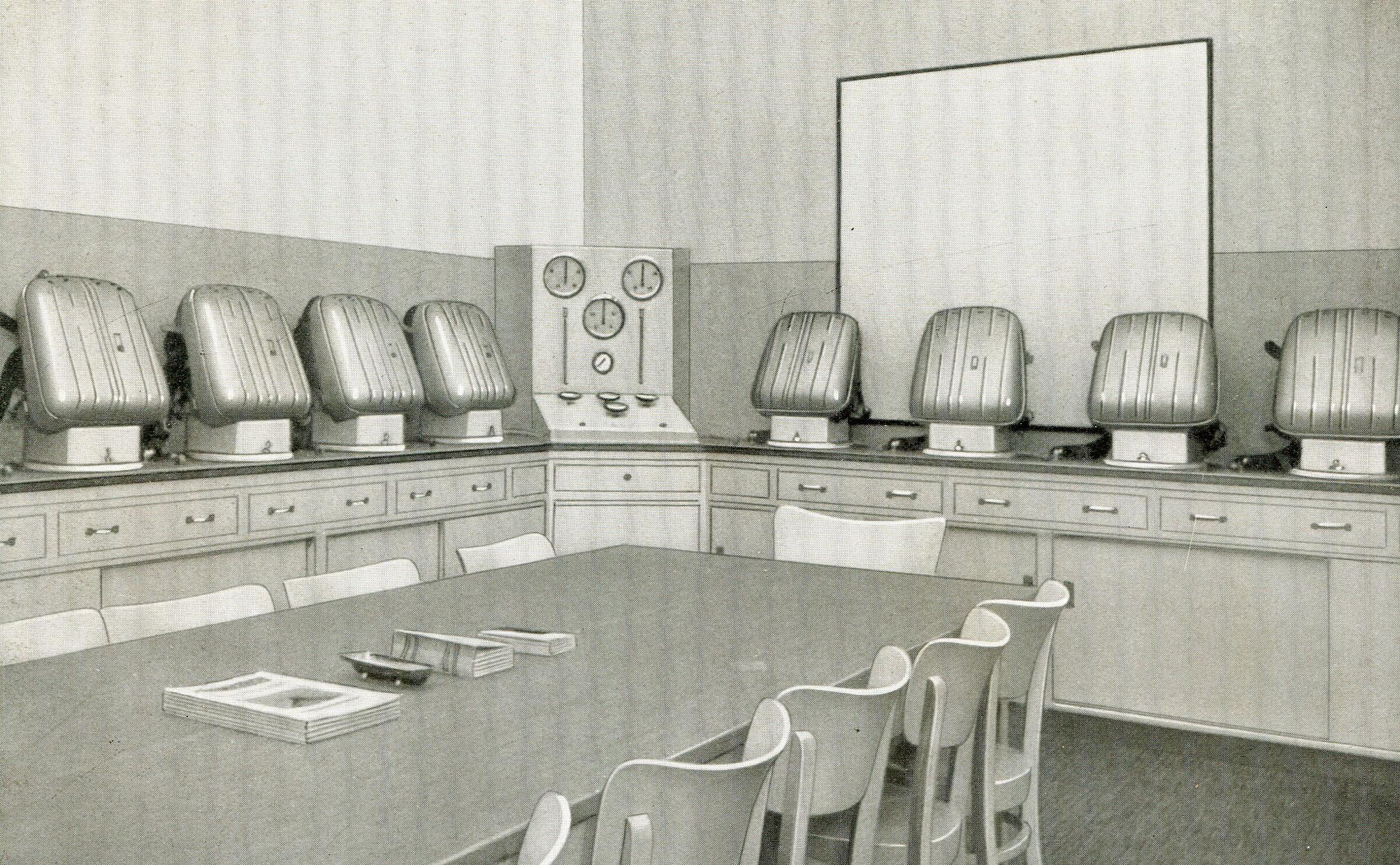 Hauptstelle für das Grubenrettungswesen in Amberg  1939
