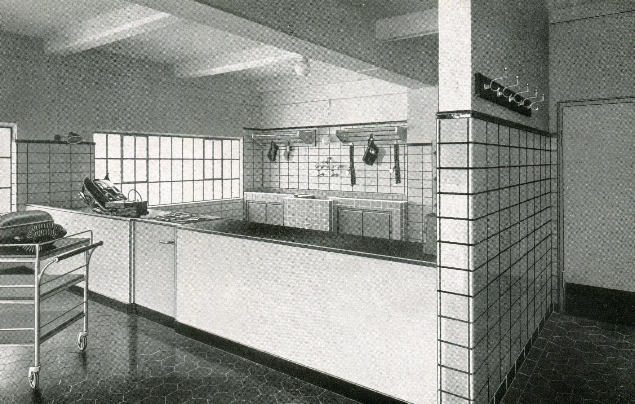 Gasschutzgerätewäsche Sophia-Jacoba,  Hückelhoven 1937
