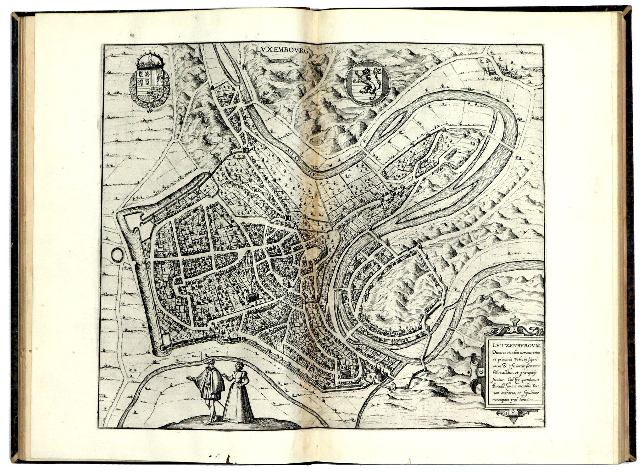 Adjugé 87 750 € - ATLAS de BRAUN & HOGENBERG, Théâtre des Cités du Monde, 4 volumes in folio, Cologne 1574