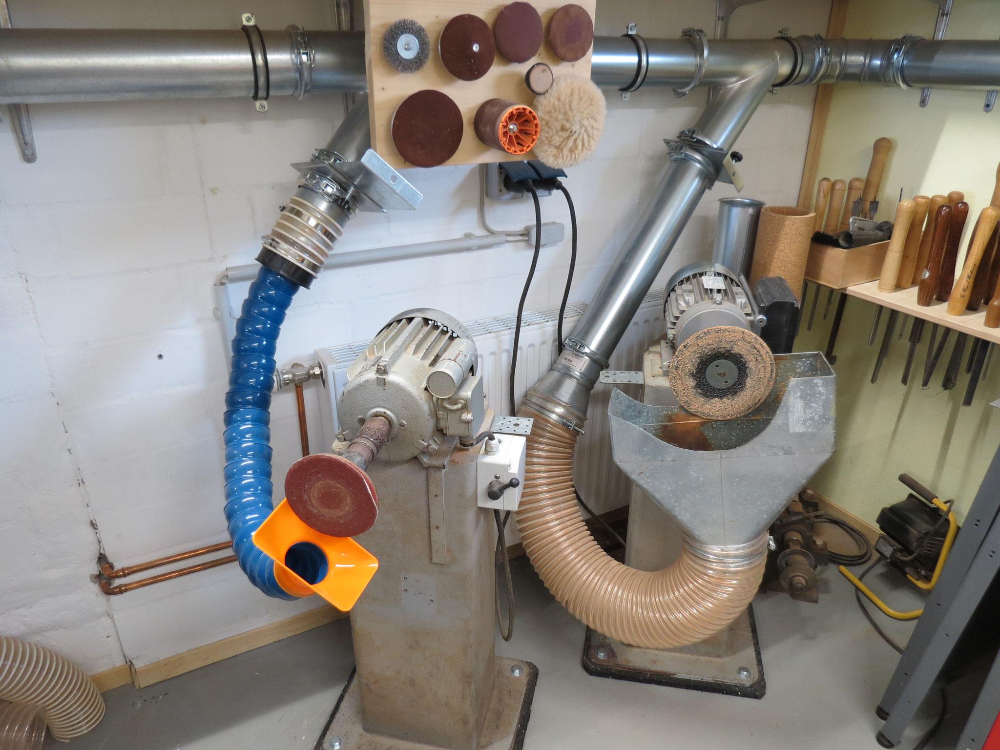 Die ehemaligen Schleifmotoren von Rainer Barbi