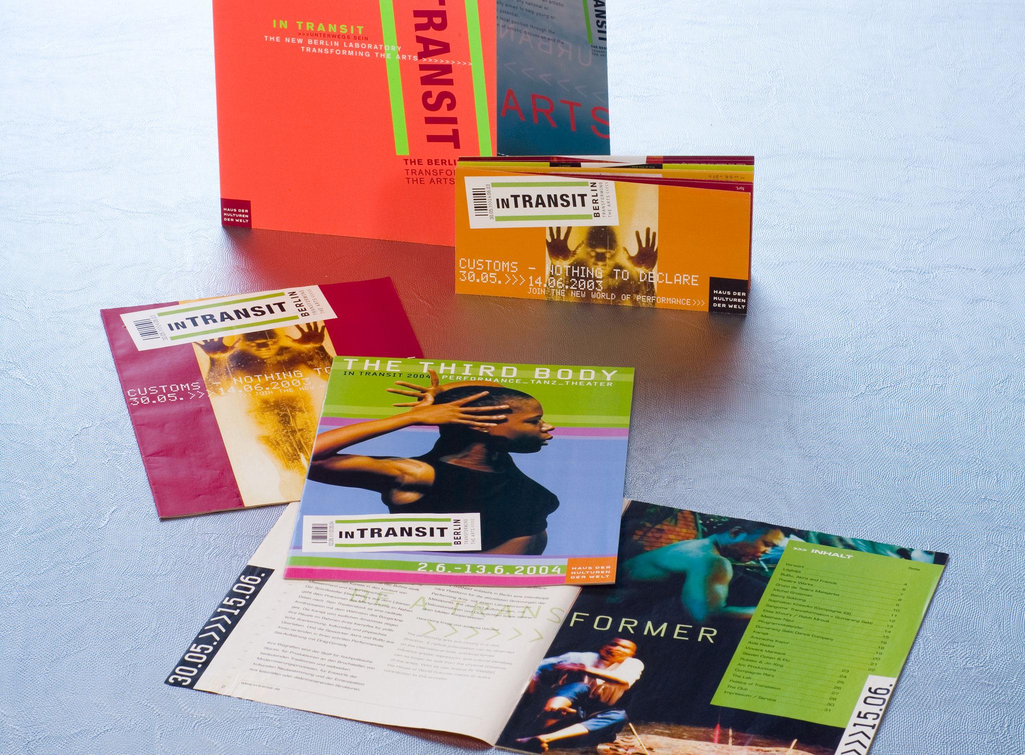Broschüre, div. Flyer, Programmheft