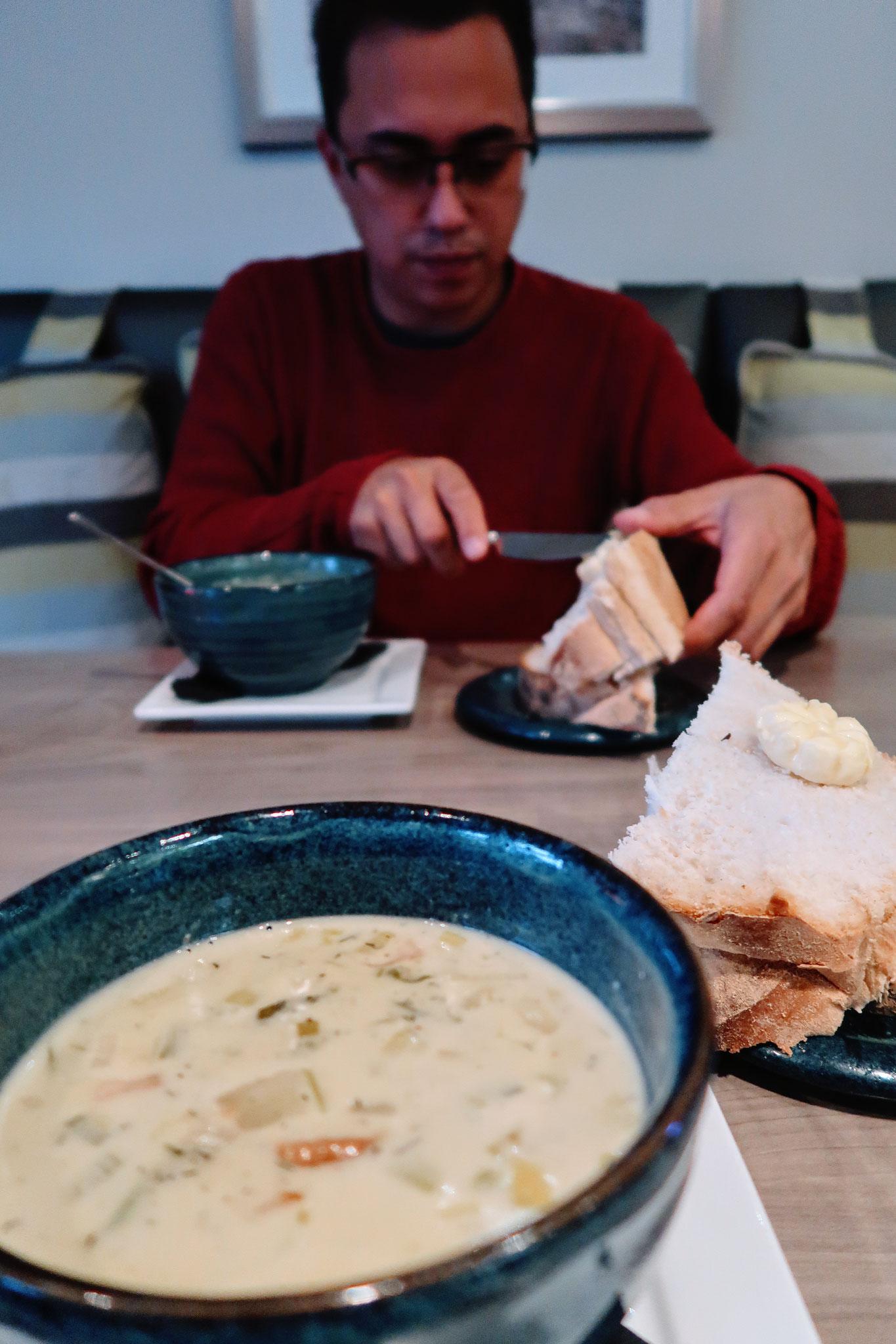 Cullen Skink - Kartoffel Lauch Suppe mit geräuchertem Haddock