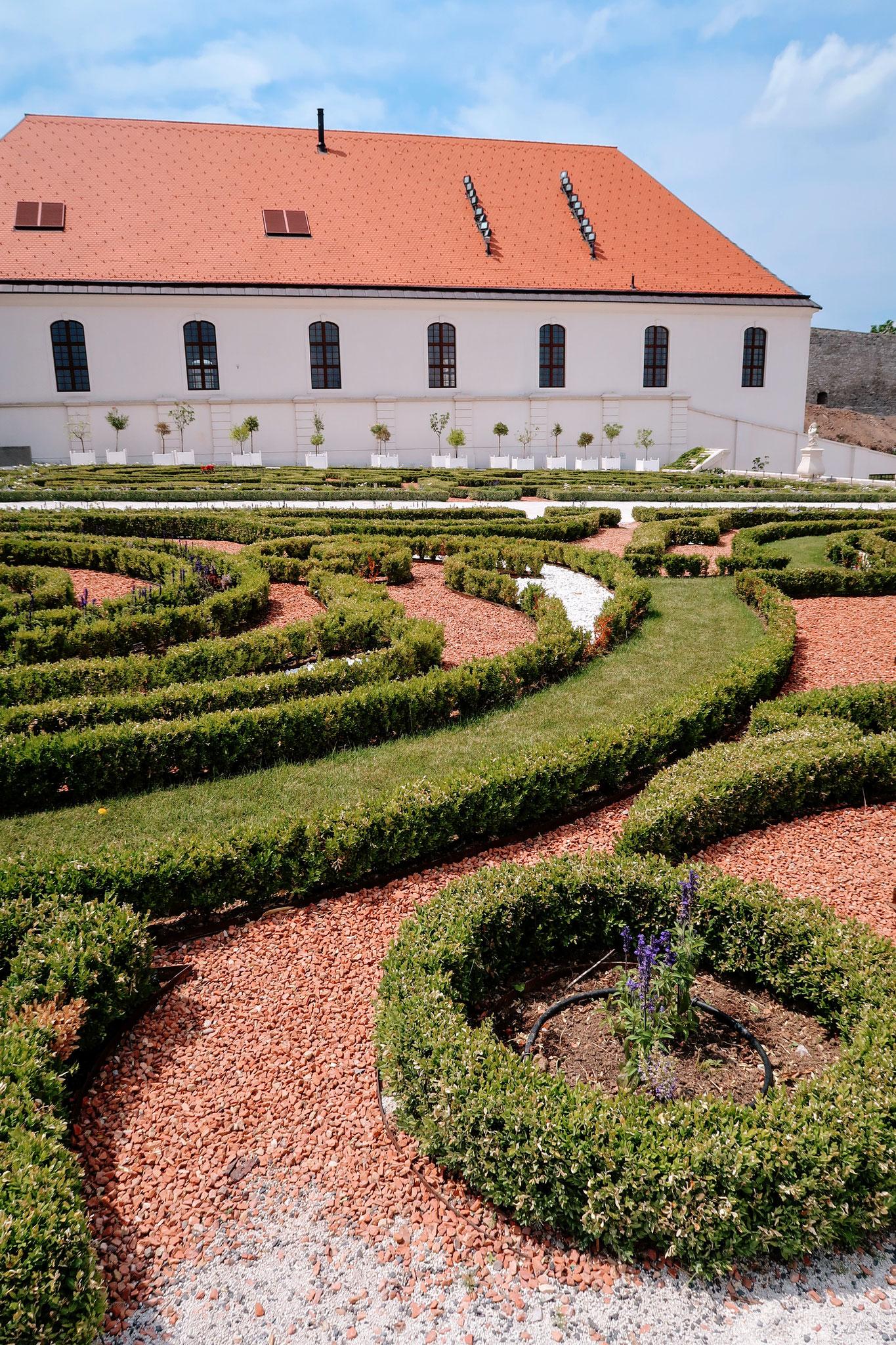 Schlossgärten Burg Bratislava