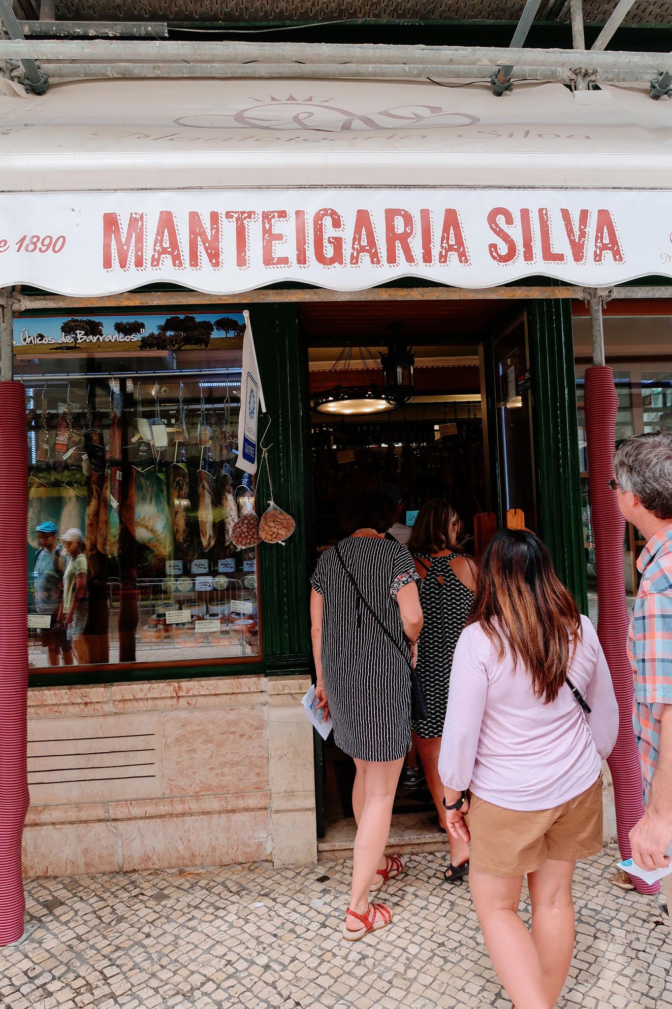 Delikatessenladen Manteigaria Silva