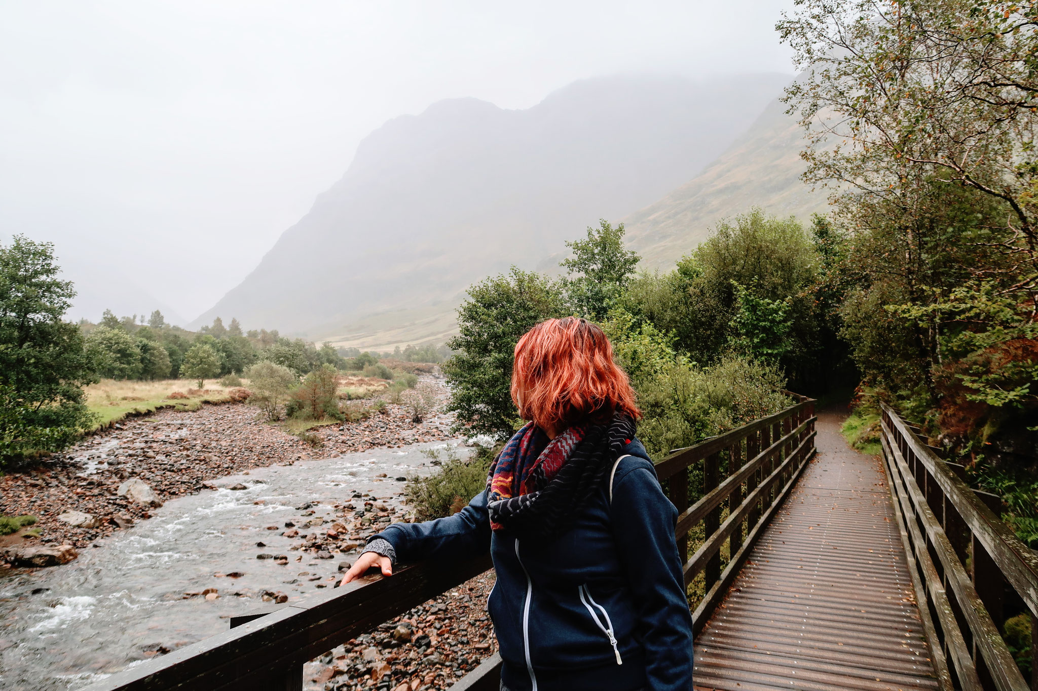 Glencoe Valley - Wanderung zum Signal Rock