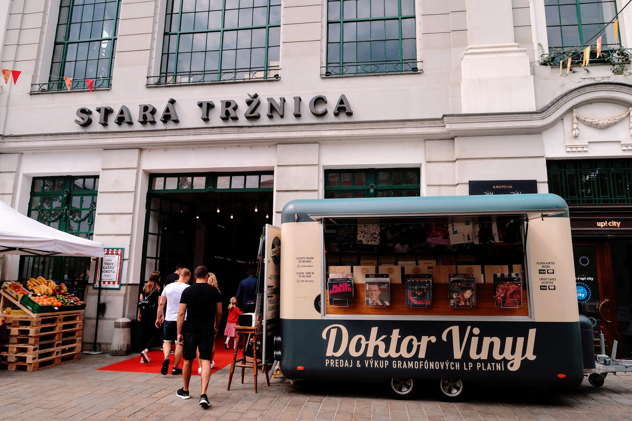 Alte Markthalle Stara Trznica