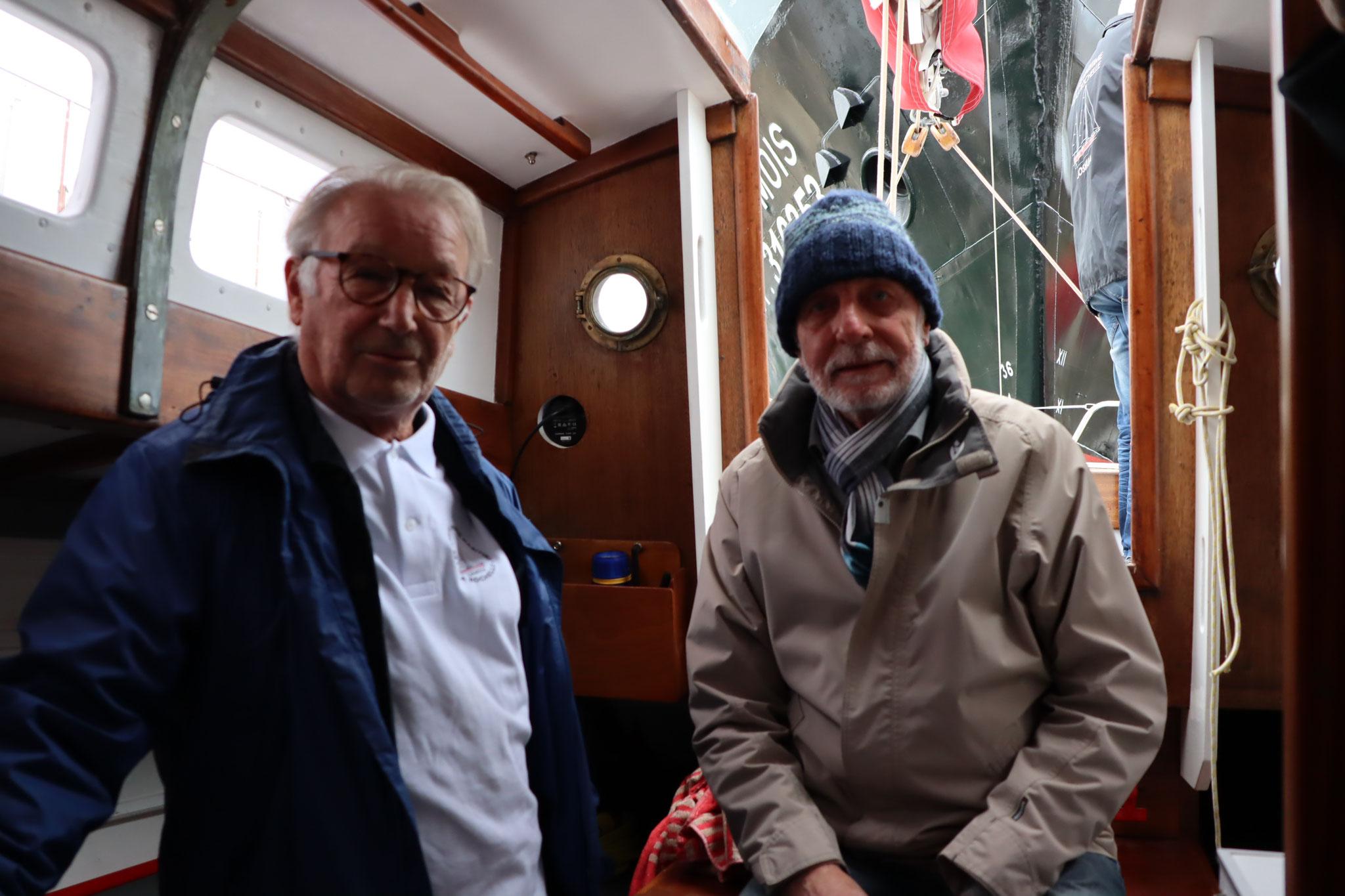 Joël Selo et Gérard Janichon