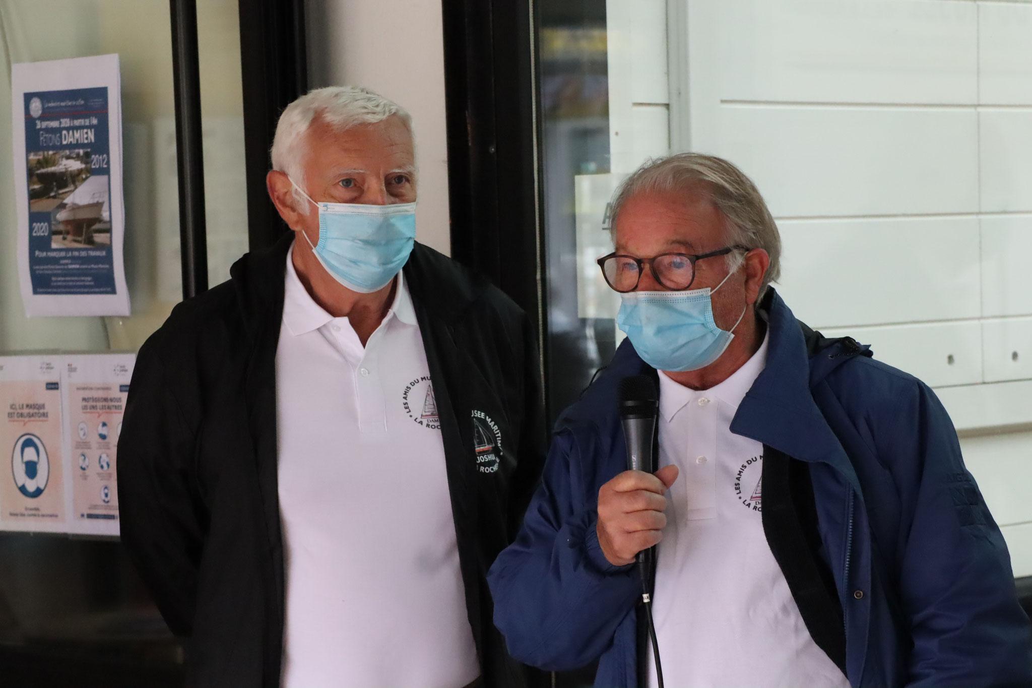 Dominique Cherbonnier et Joël Selo