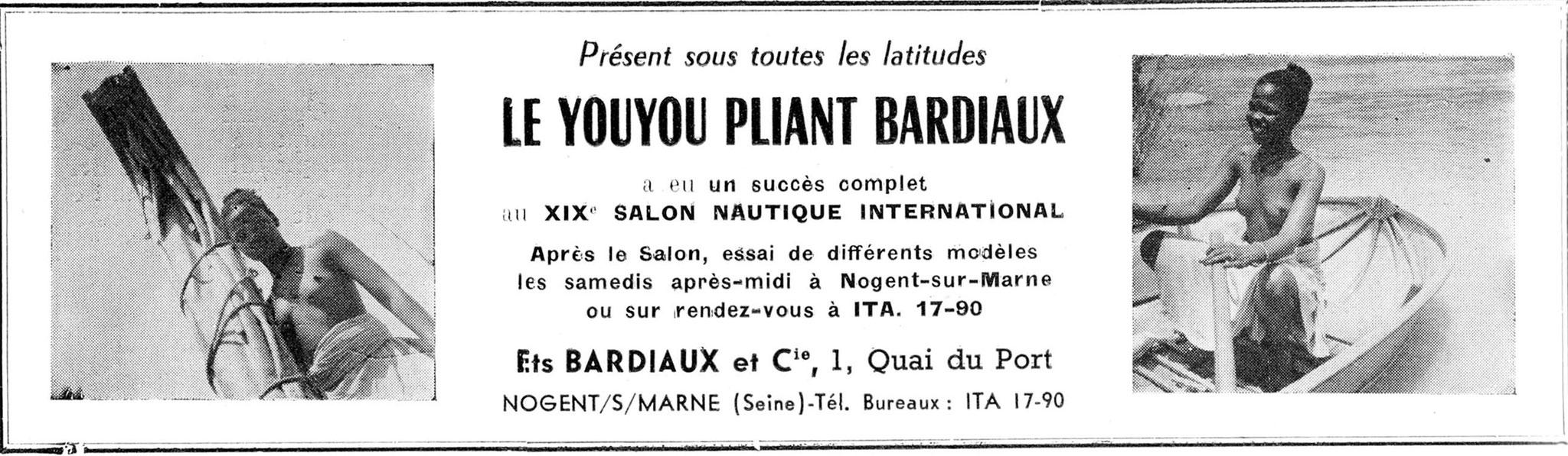 Annexe Bardiaux, documentation commerciale
