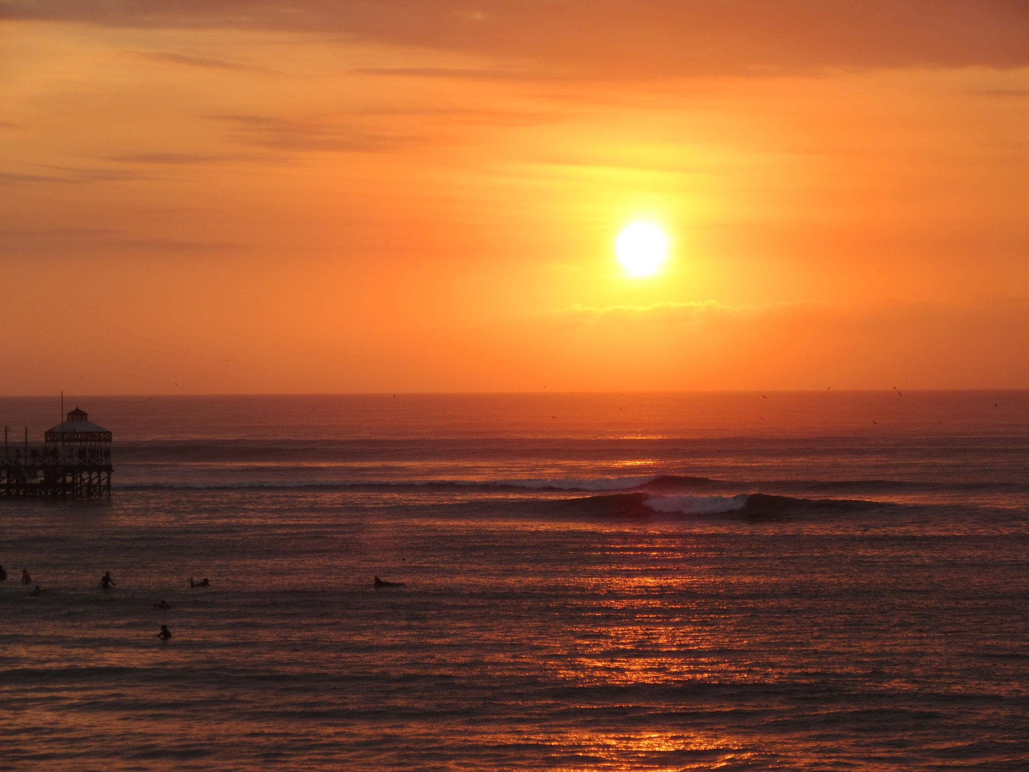 Sonnenuntergang in Huanchaco