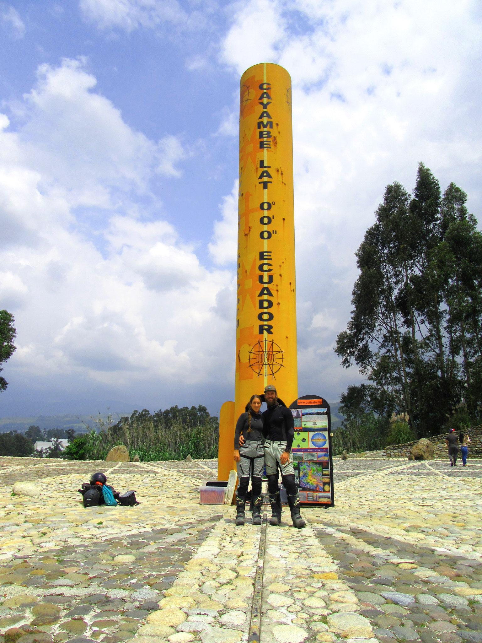 Überquerung des Äquators
