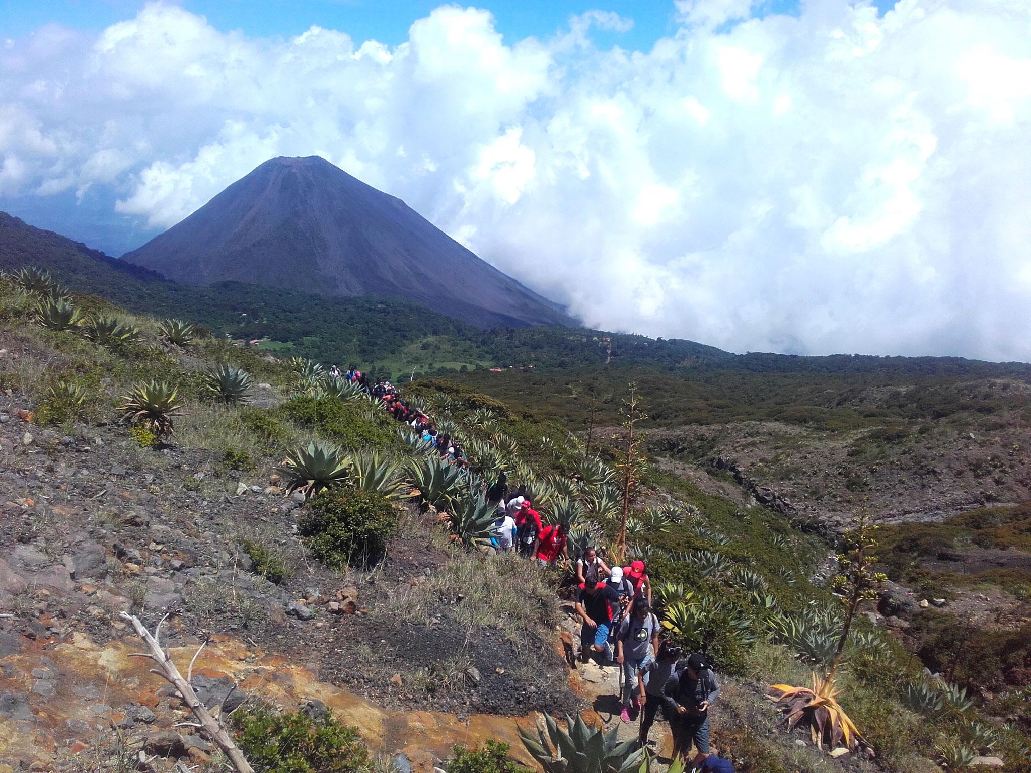 Volcano Santa Ana, El Salvador