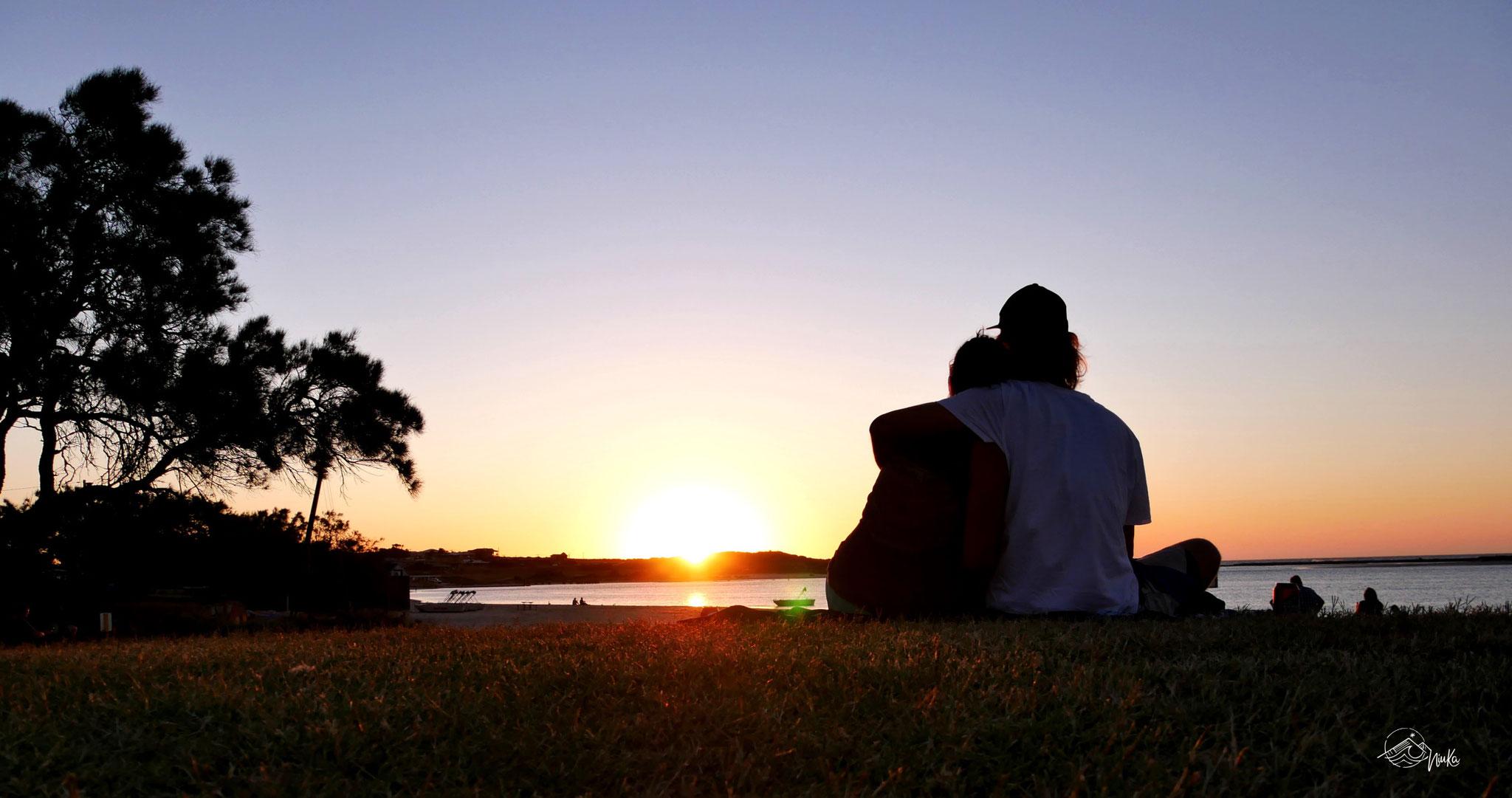 Sonnenuntergang in Kalbarri