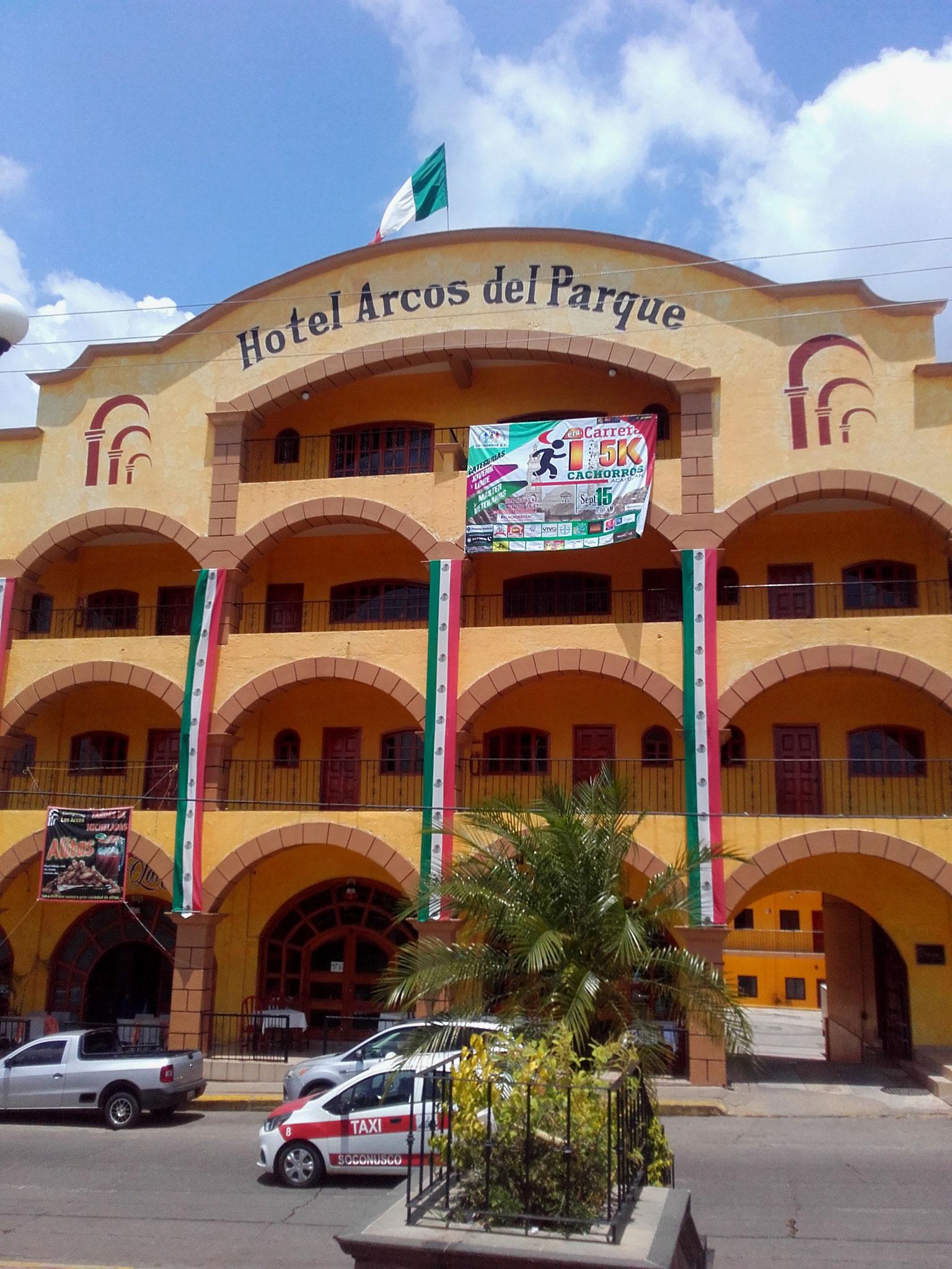 Hotel Arcos del Parque, Acayucan