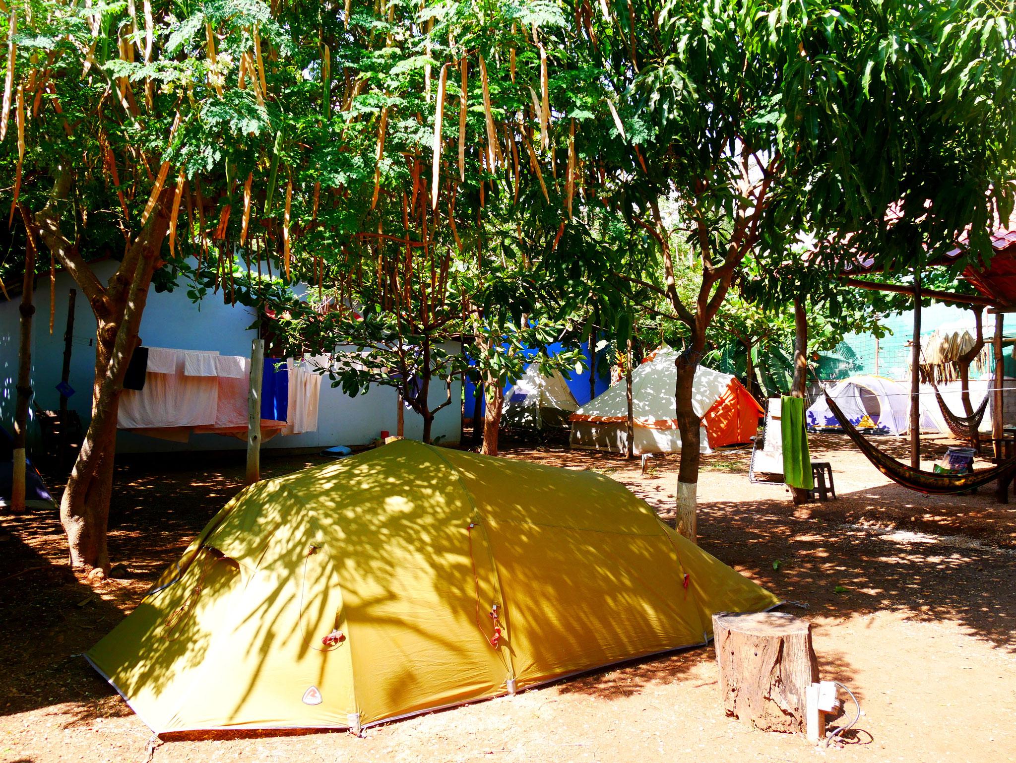 Camping in Tamarindo