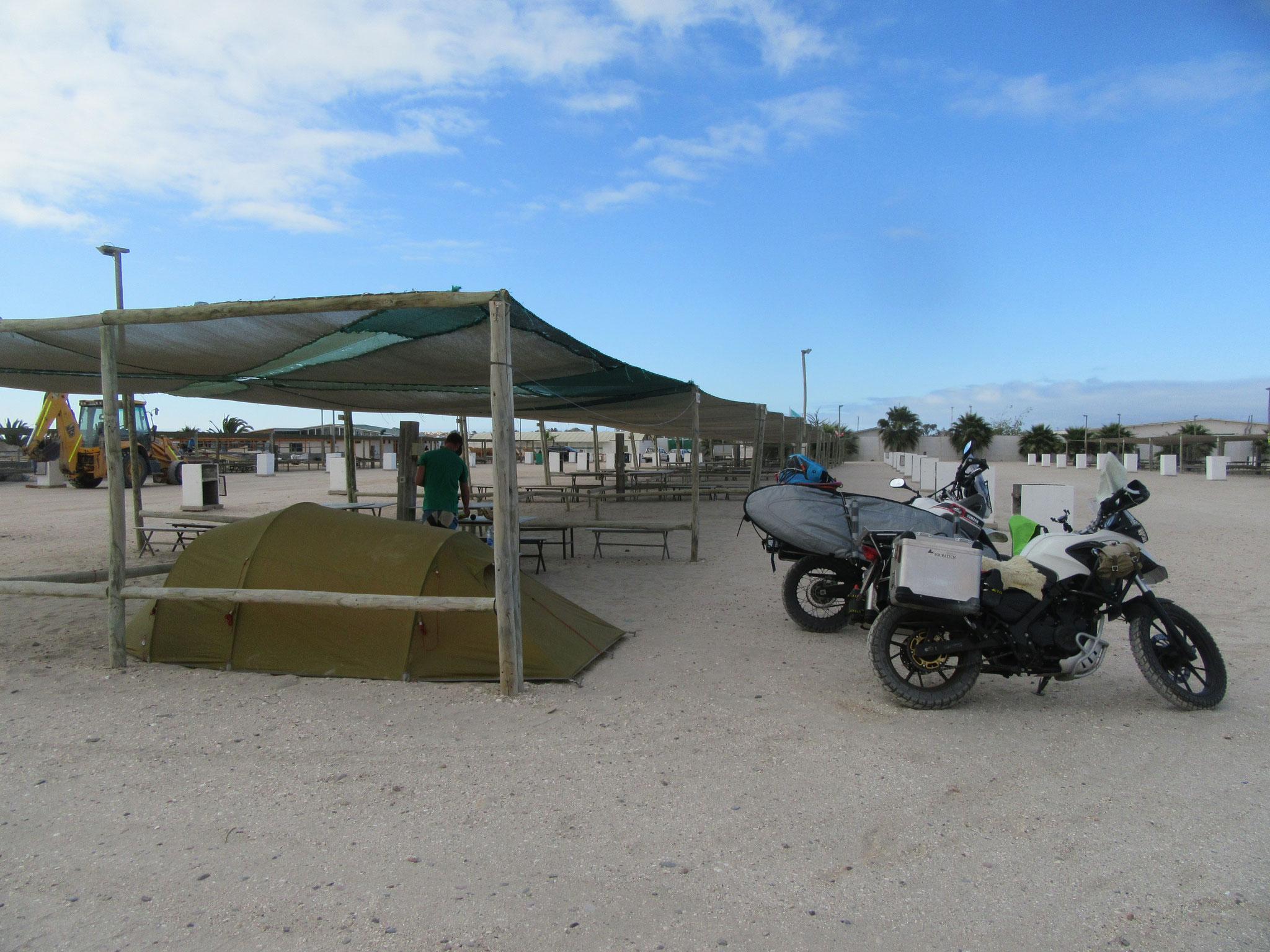 Campingground in Bahia Inglesa