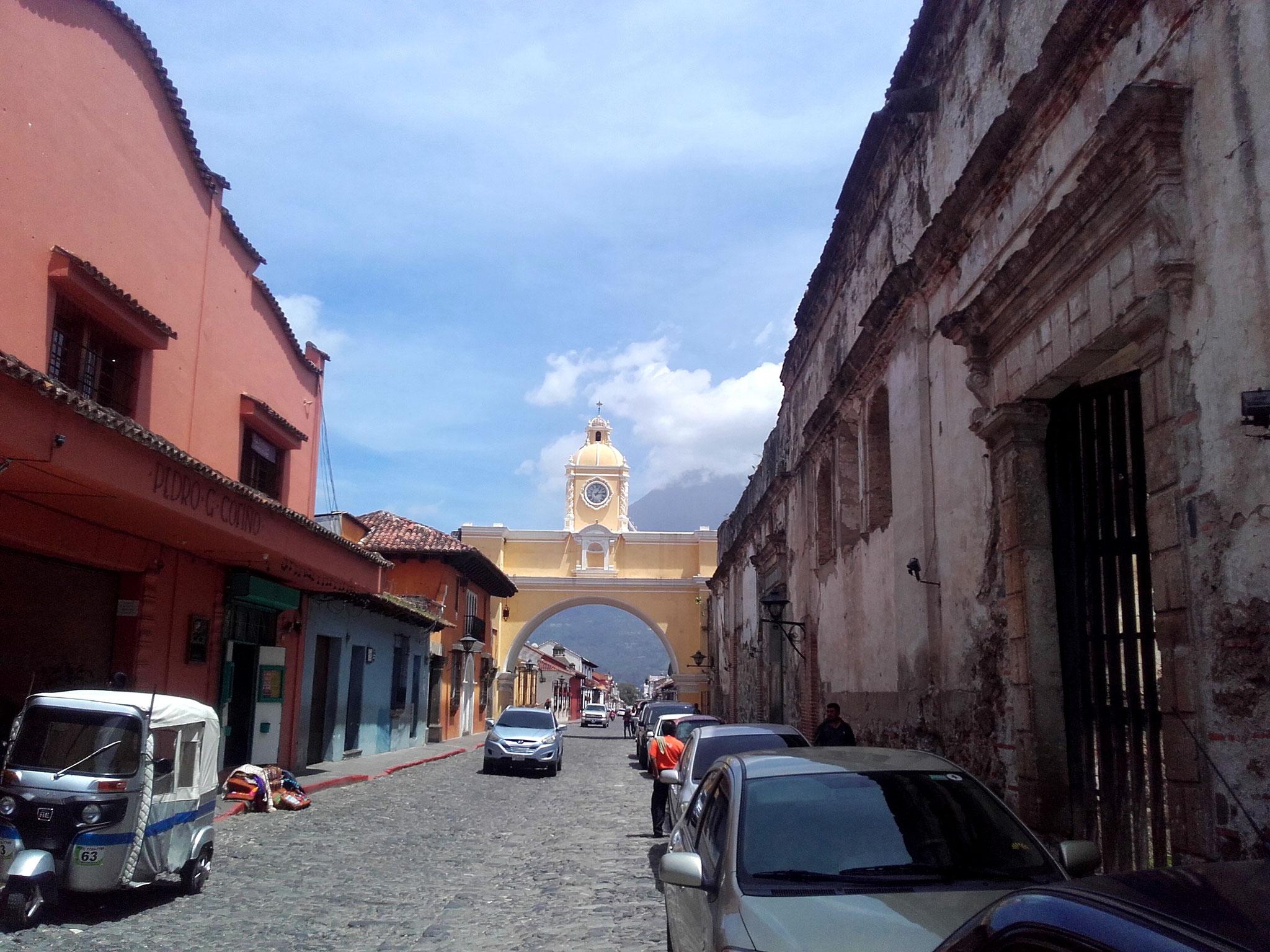 Arco de Santa Catalina Antigua