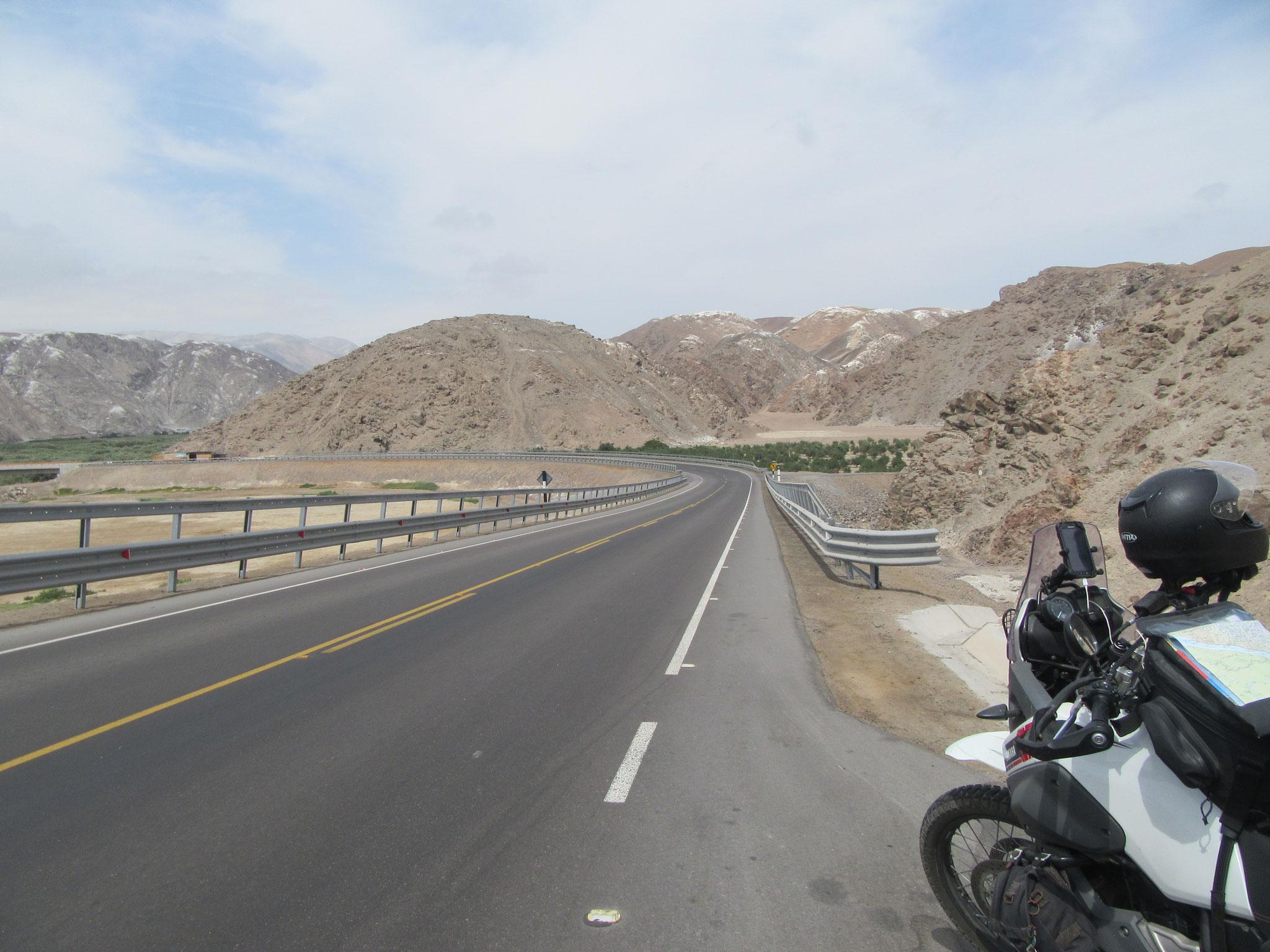 Fahrt durch Südperu