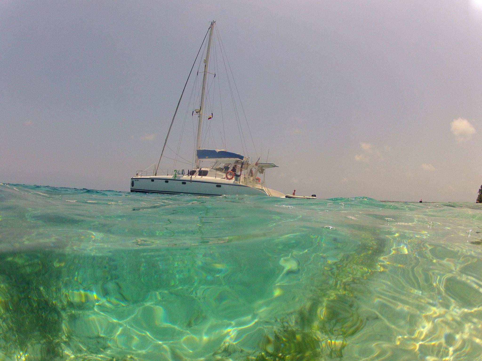 Sailing trip San Blas, Panama