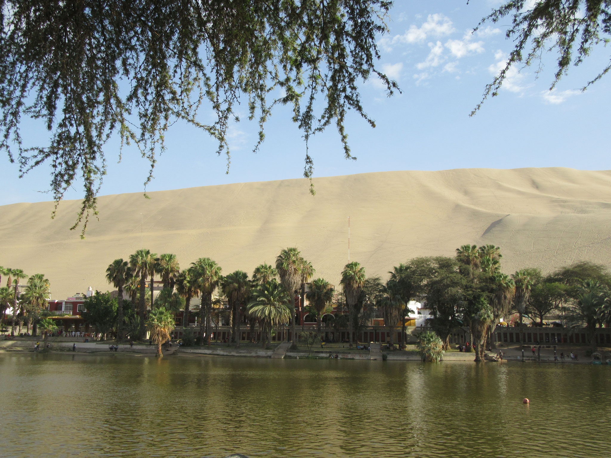 Laguna in Huacachina