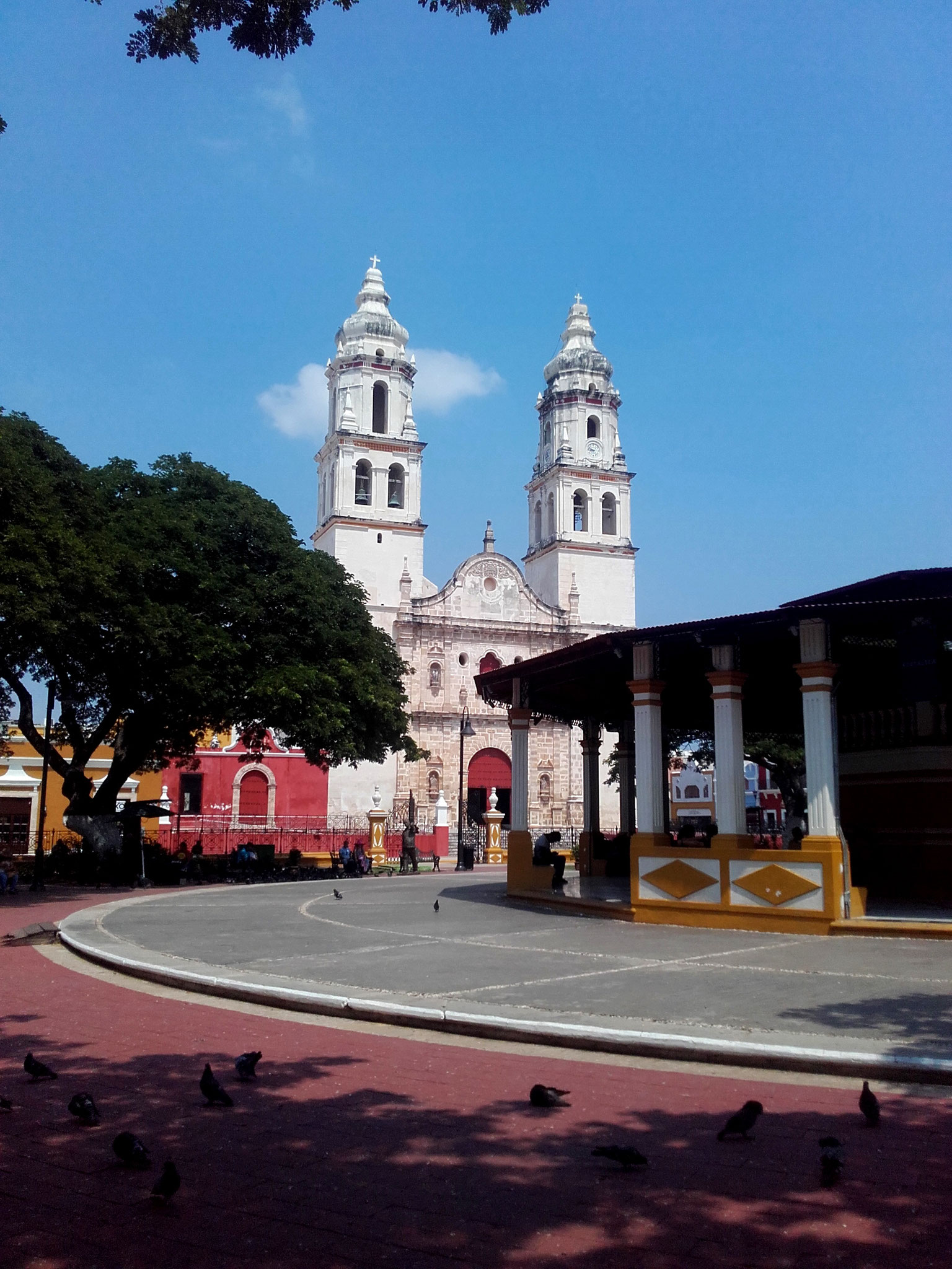 Church in Campeche