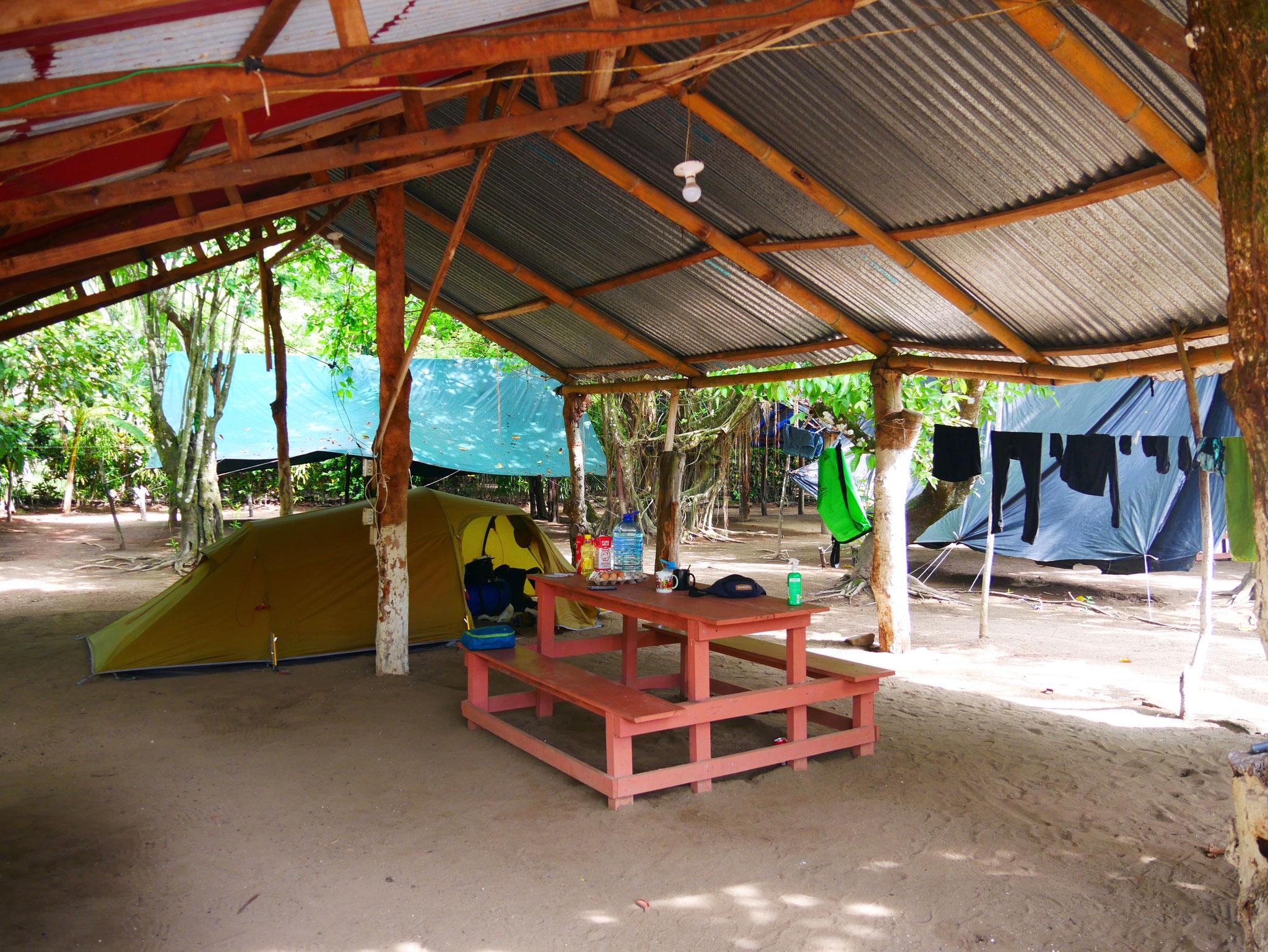 Campground in Uvita