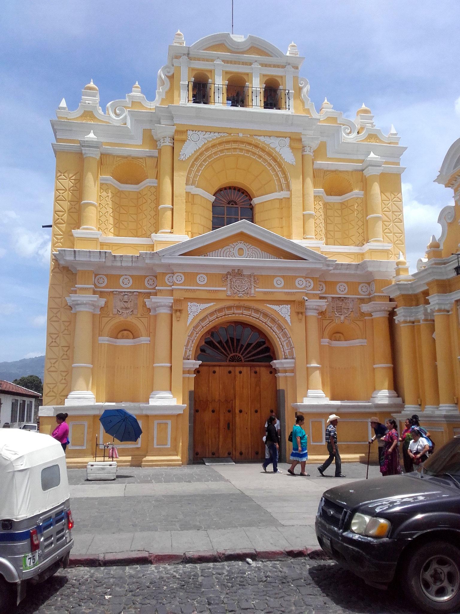 Kolonialgebäude Antigua