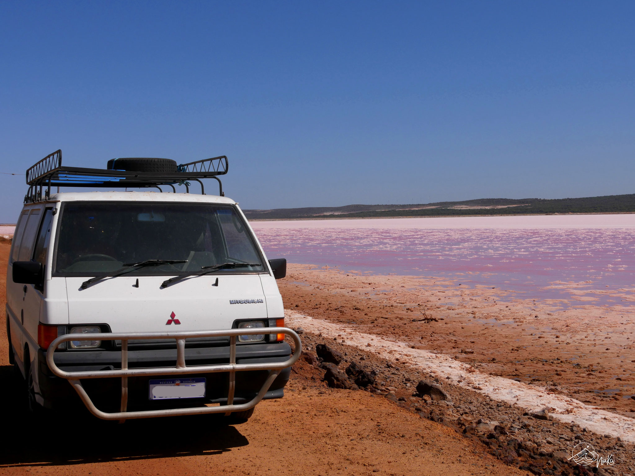 Kimberley am Pink Lake