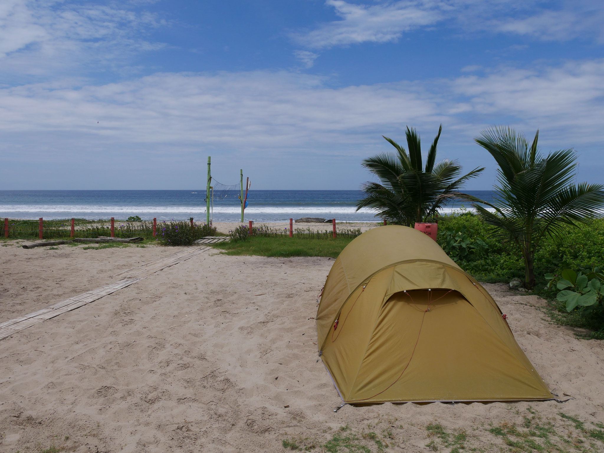 Camping in Montanita