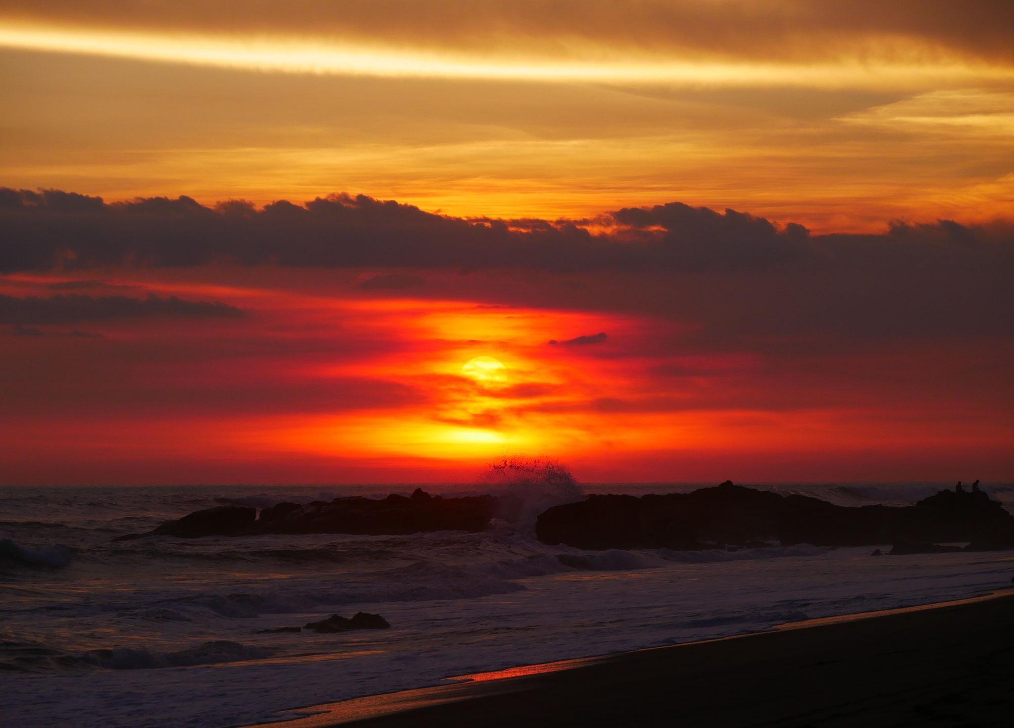 Sunset Las Penitas, Nicaragua