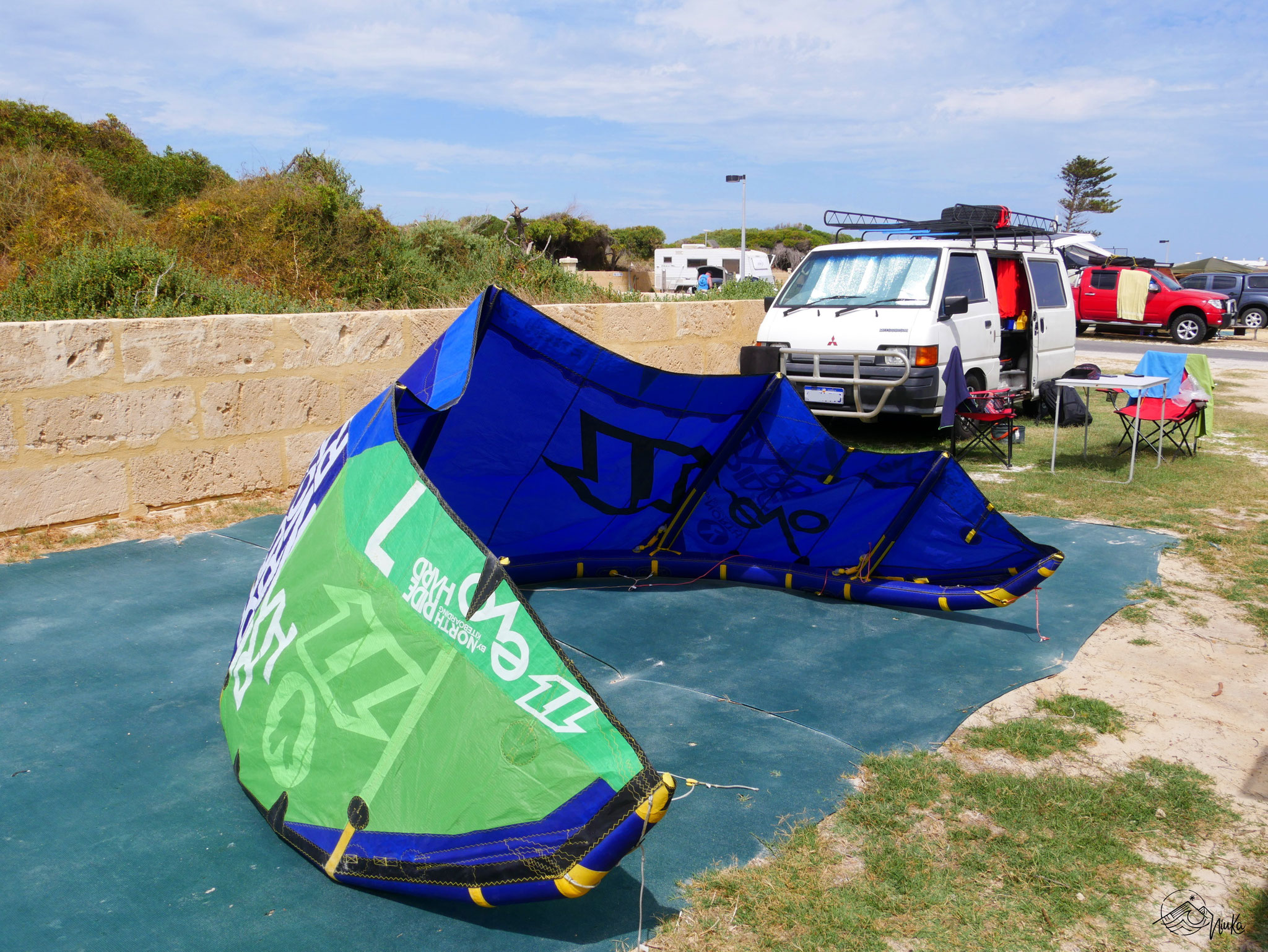 Camping in Lancelin