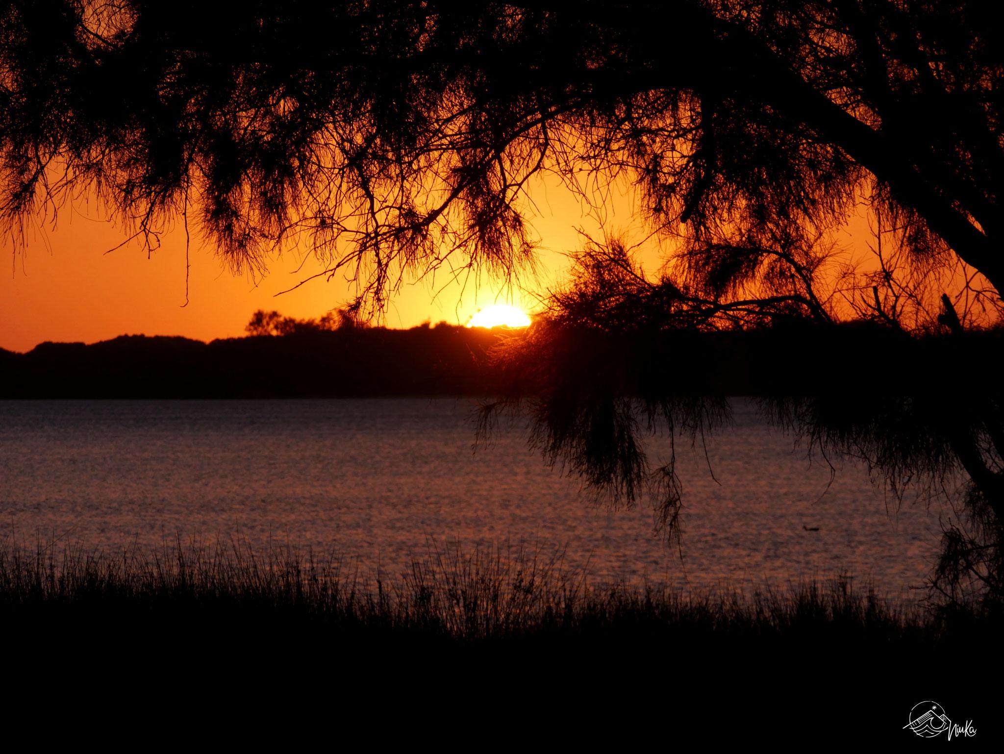 Sonnenuntergang in Australind