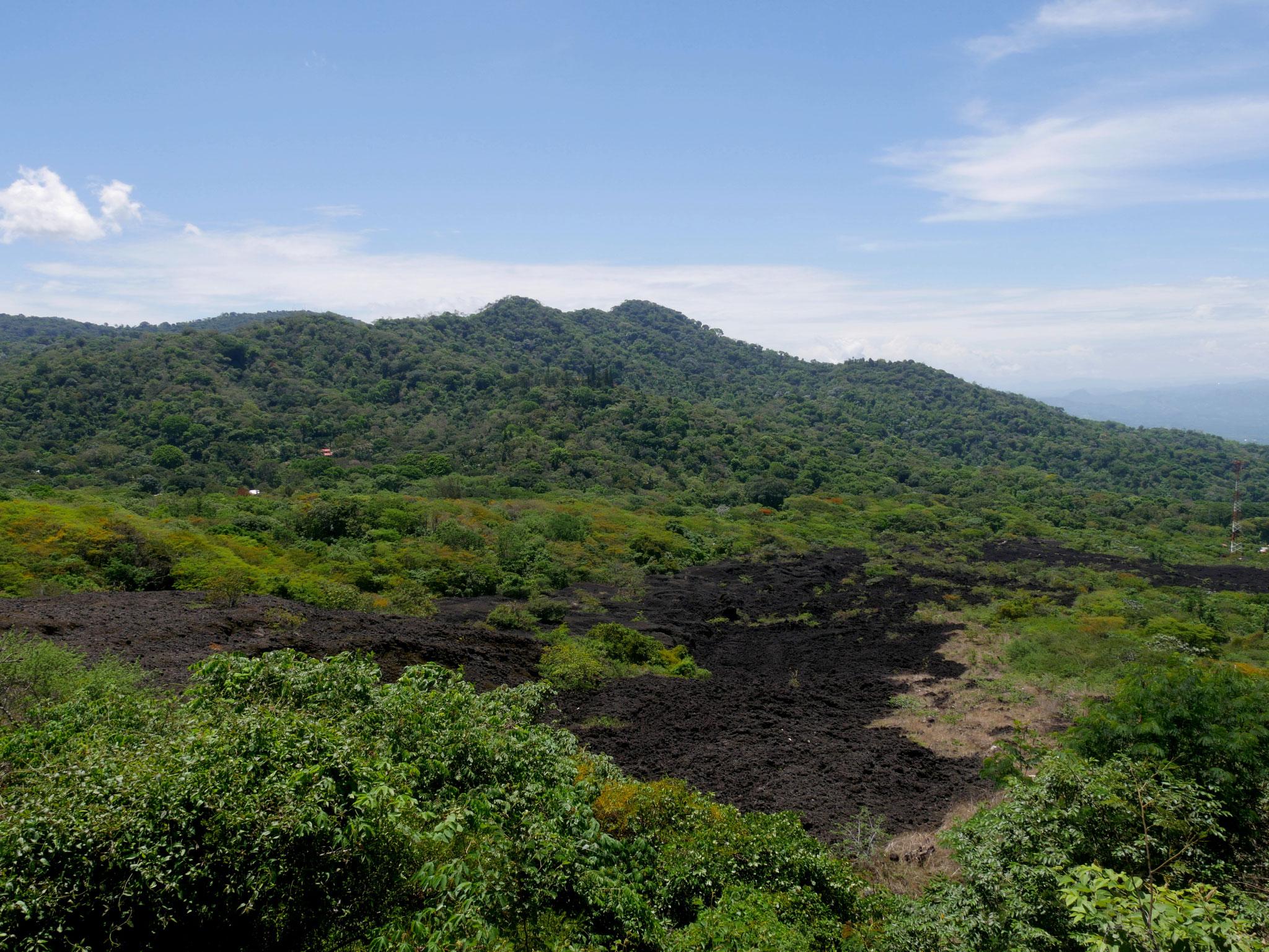Volcano Chaparrastique, El Salvador